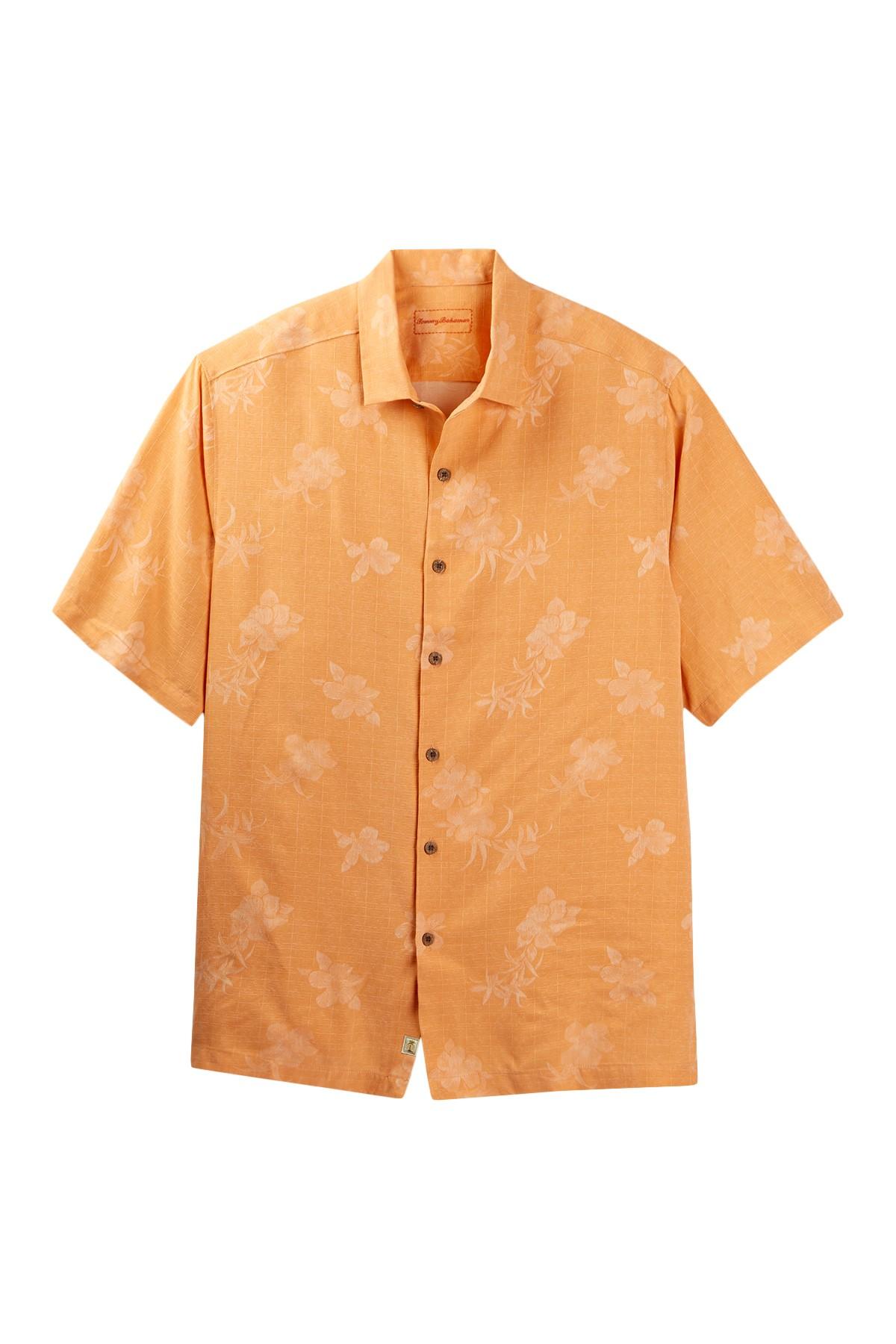 Tommy Bahama Aloha Floral Silk Camp Shirt Big Tall For