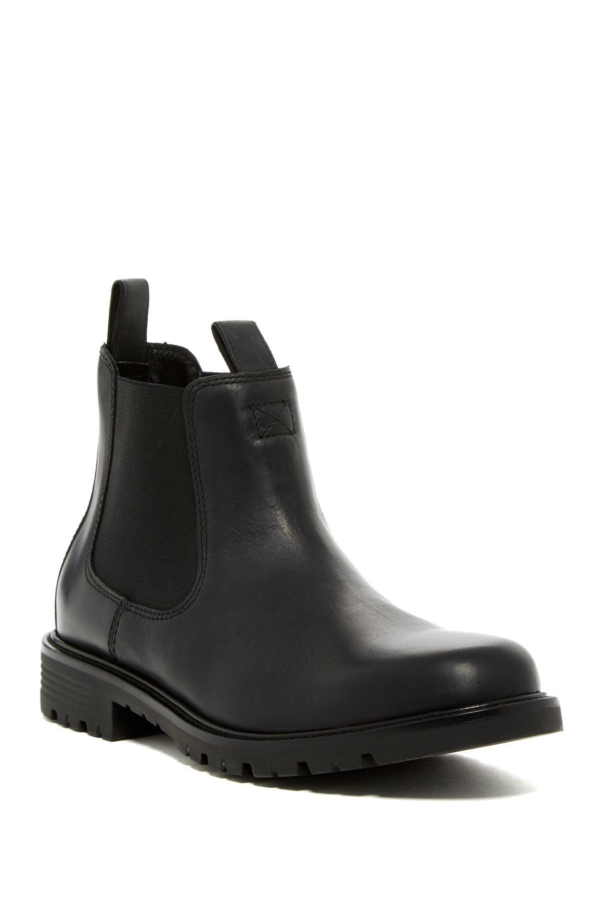 cole haan grantland chelsea boot in black for lyst
