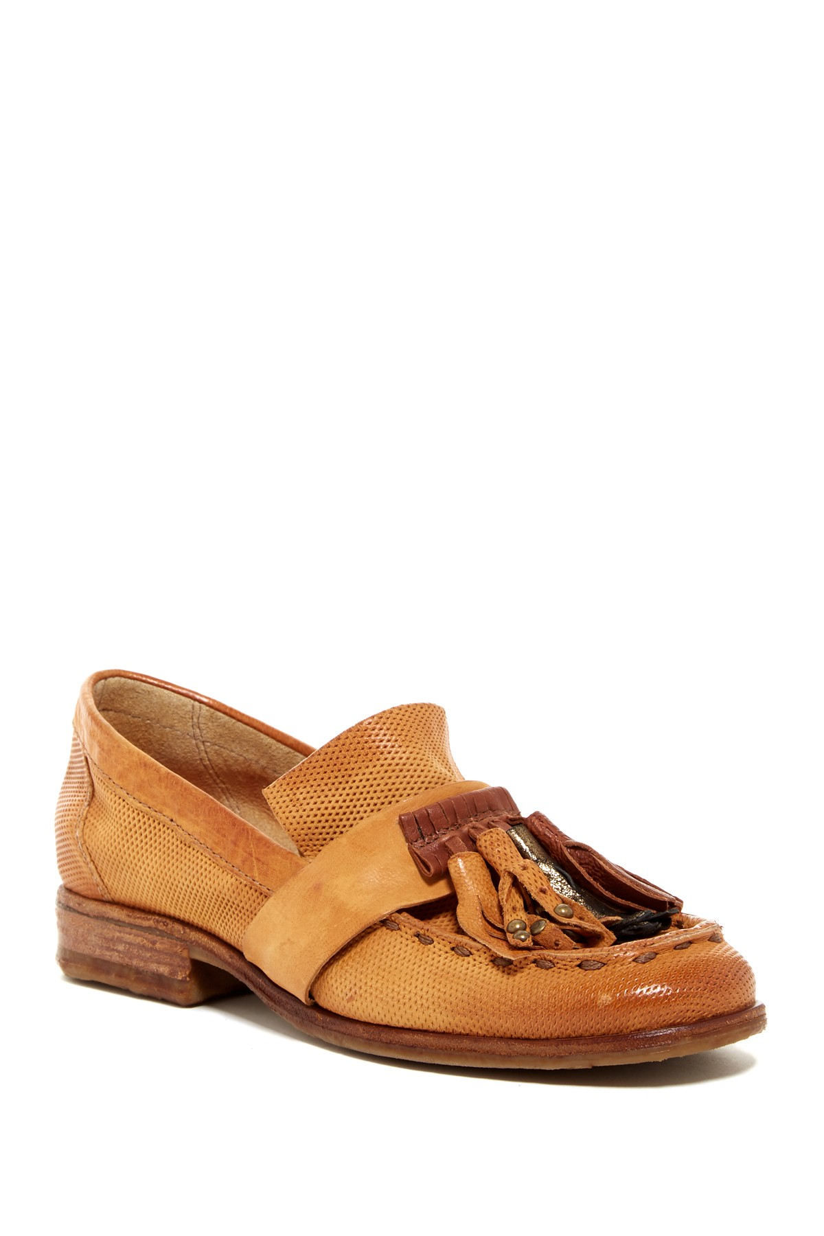 A.s.98 Clyde Tassel Loafer in Brown (CUOIO)