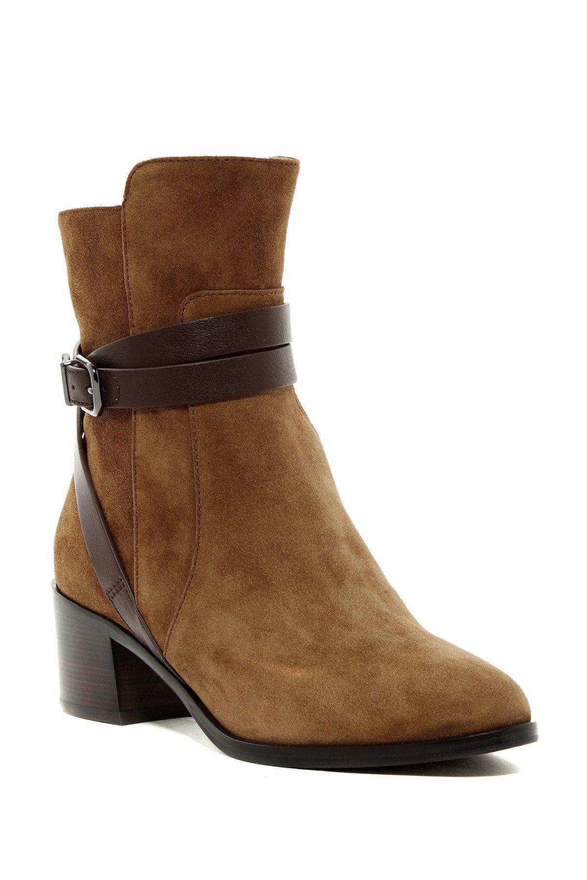via spiga alden boot in brown lyst