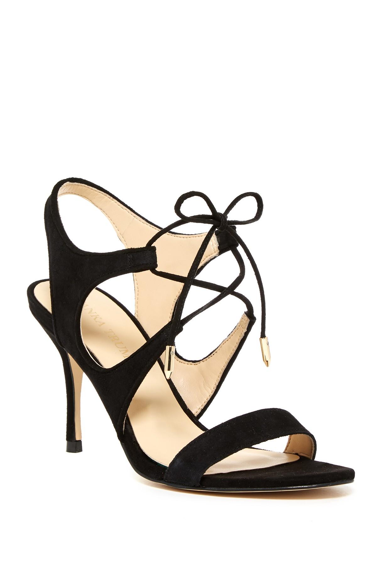 2b52d8c8e88 Lyst - Ivanka Trump Garver Sandal in Black