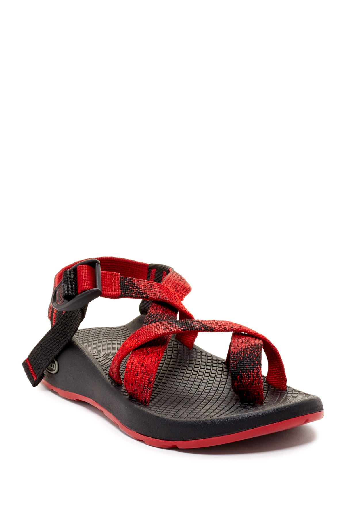 Elegant Chaco Z1 Unaweep Sandals For Women In Floral Red