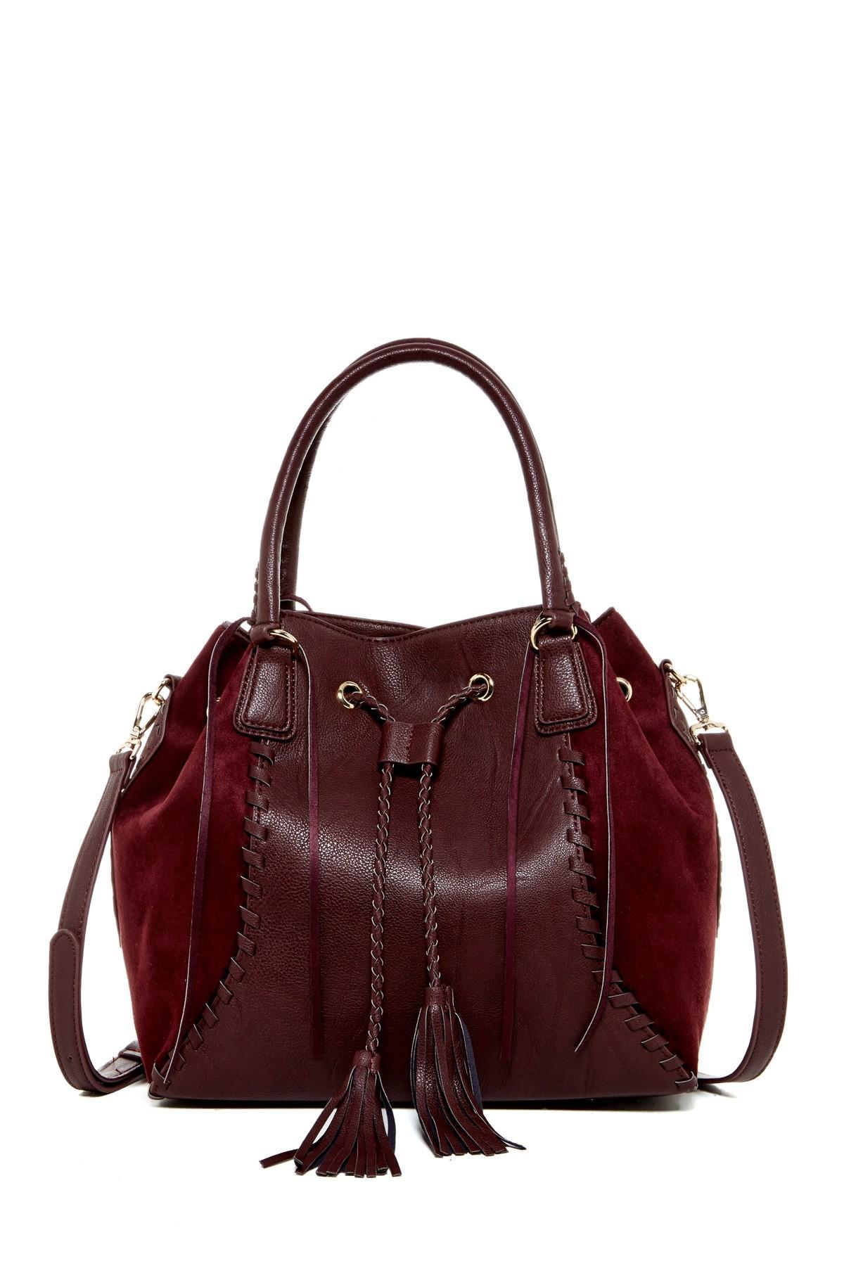 c95fbb383c58 Lyst - Big Buddha Bristow Tassel Draw Shoulder Bag