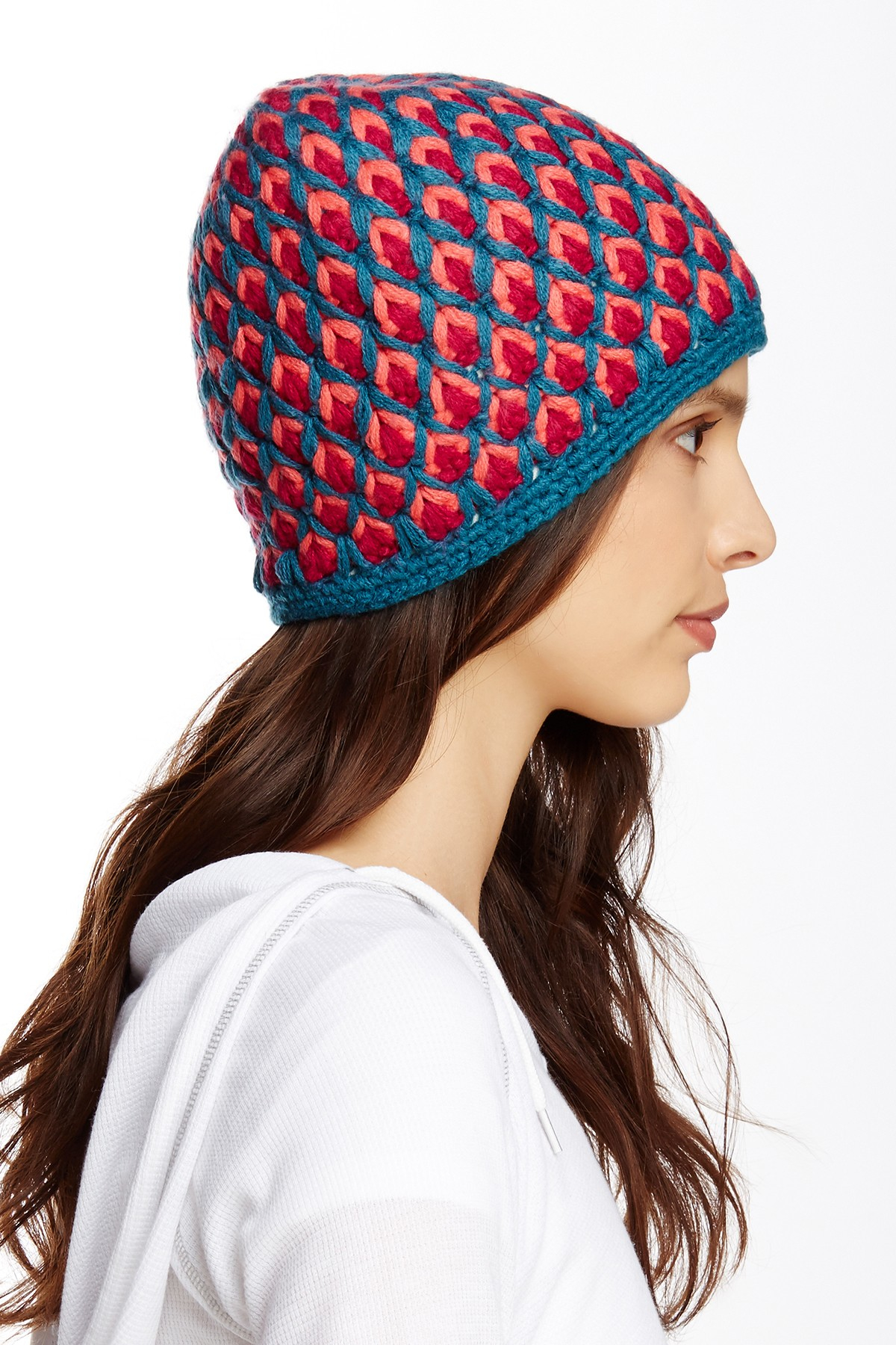 Lyst - The North Face Briar Fleece Lined Beanie 0124674bb47