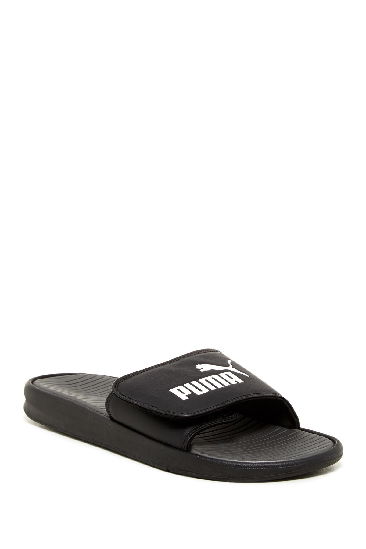 Puma Slide Sandal In Black For Men Lyst