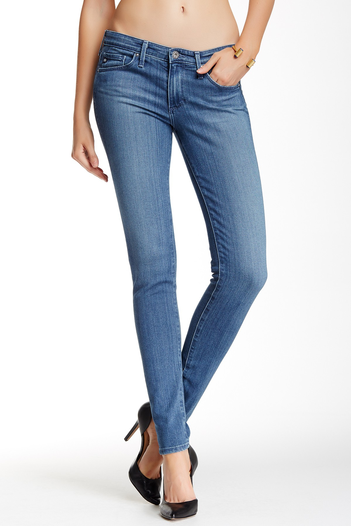 Grey Skinny Jeans For Women