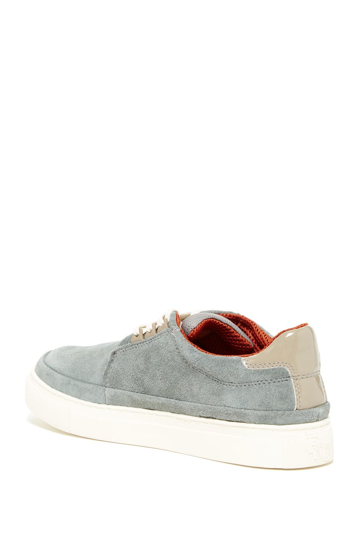Fish n chips chipped sneaker in gray lyst for Fish and chips shoes