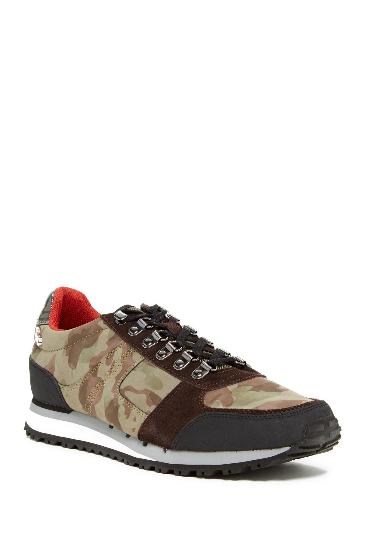 Lyst fish n chips panini sneaker in brown for men for Fish and chips shoes