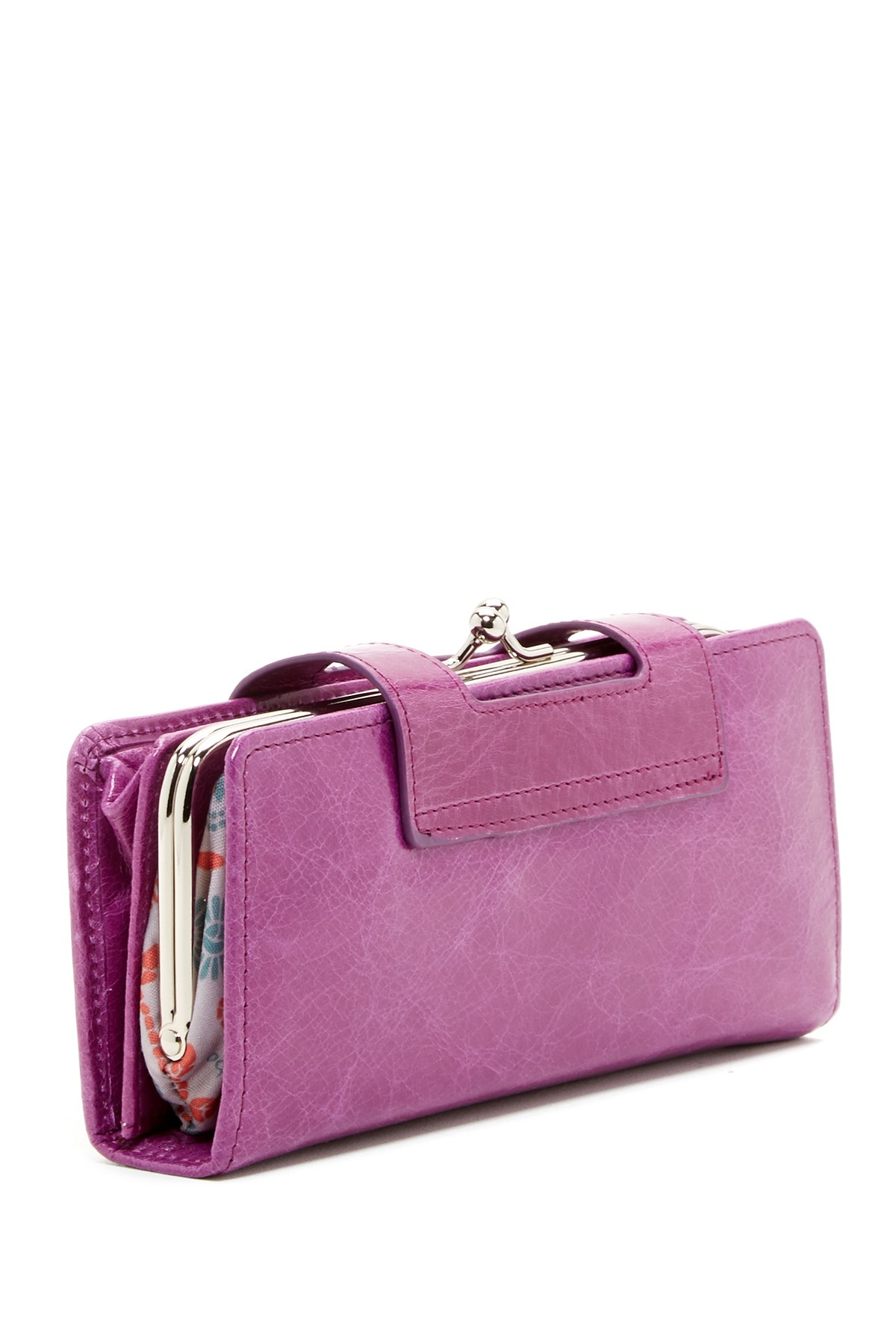 Lyst Hobo Nancy Leather Wallet