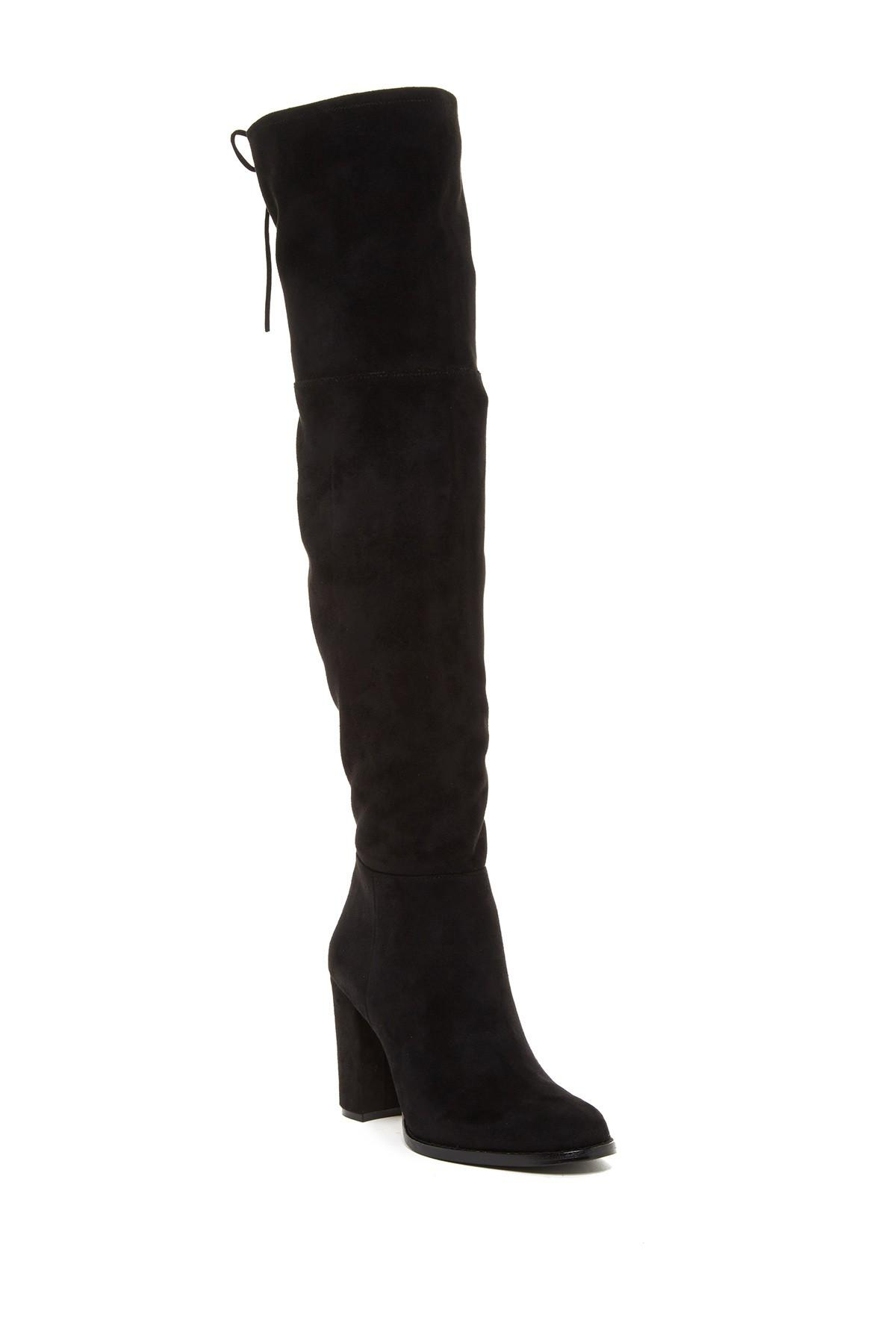 Lyst Vince Camuto Grady Over The Knee Boot In Black