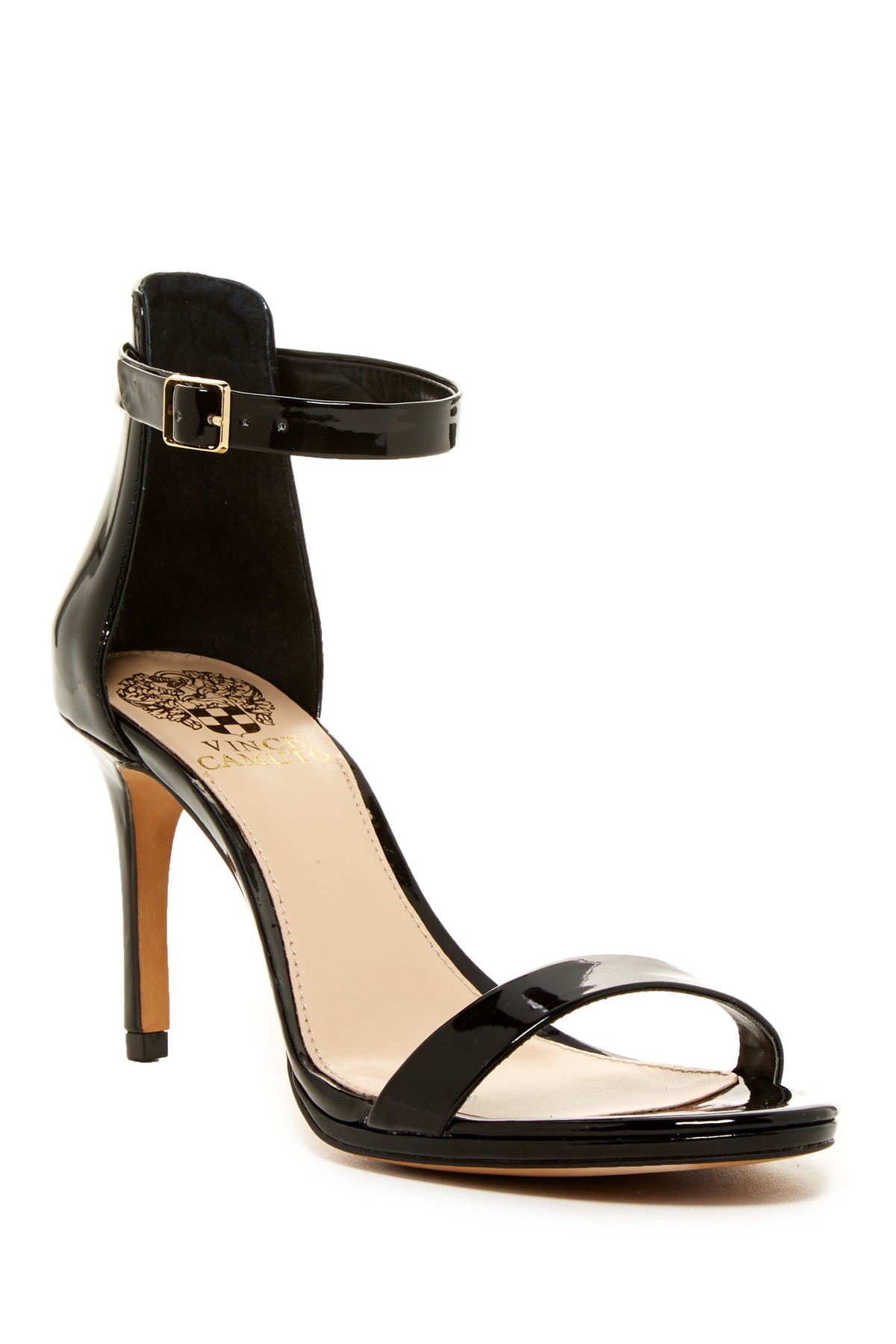 Vince Camuto Jesta High Heel Sandal In Black Black 01 Lyst