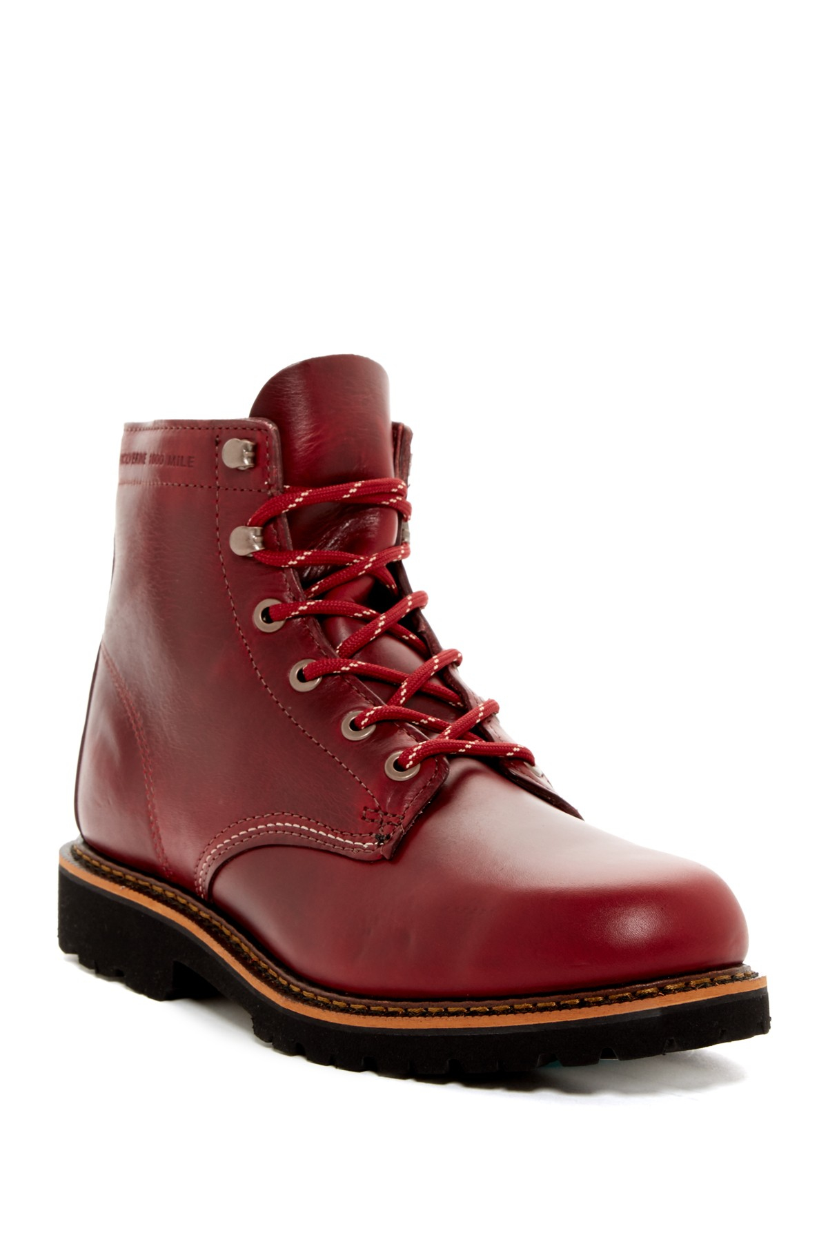 Wolverine Duvall Combat Boot In Red For Men Lyst