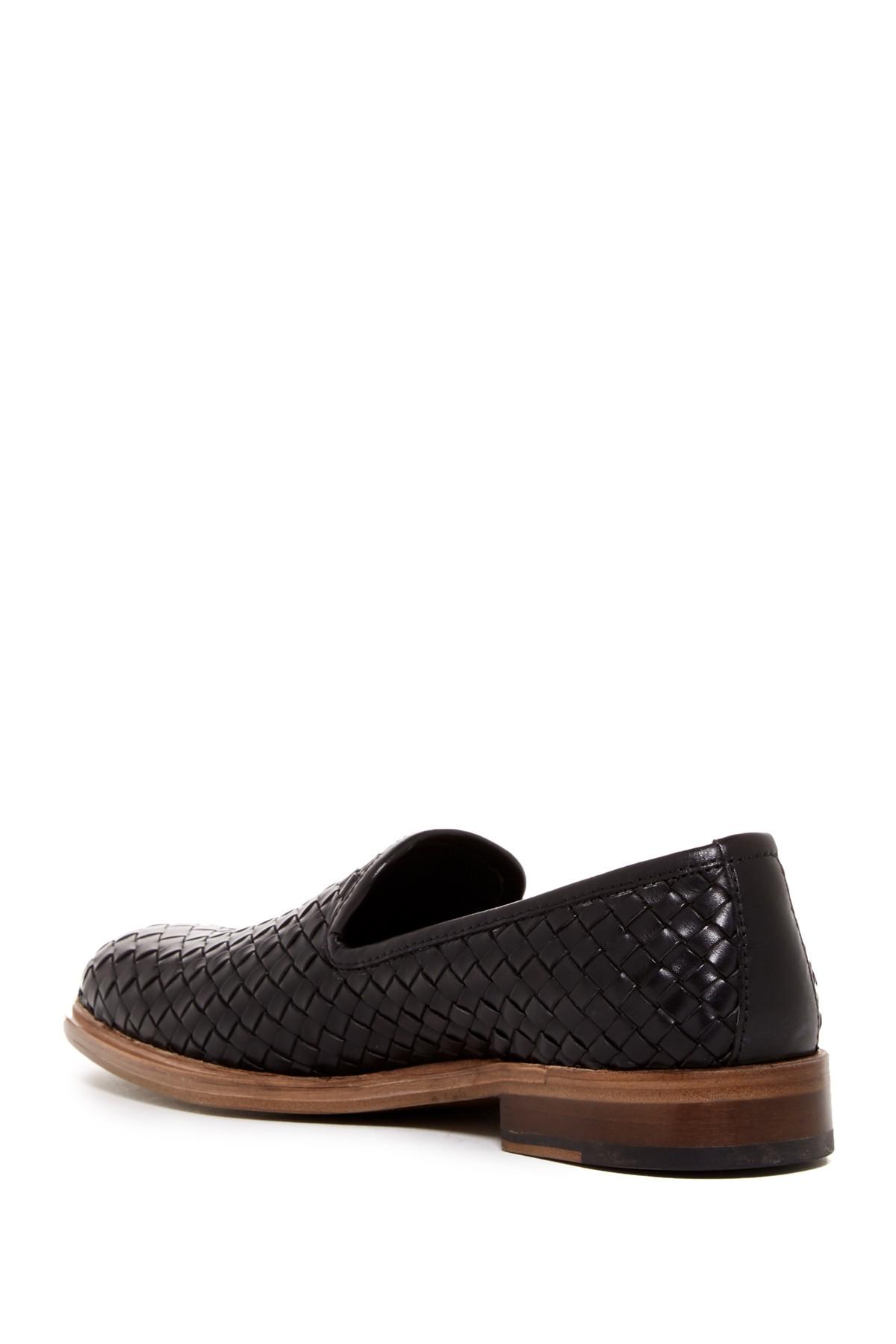 Donald J Pliner Zelvyn Woven Loafer In Black For Men Lyst