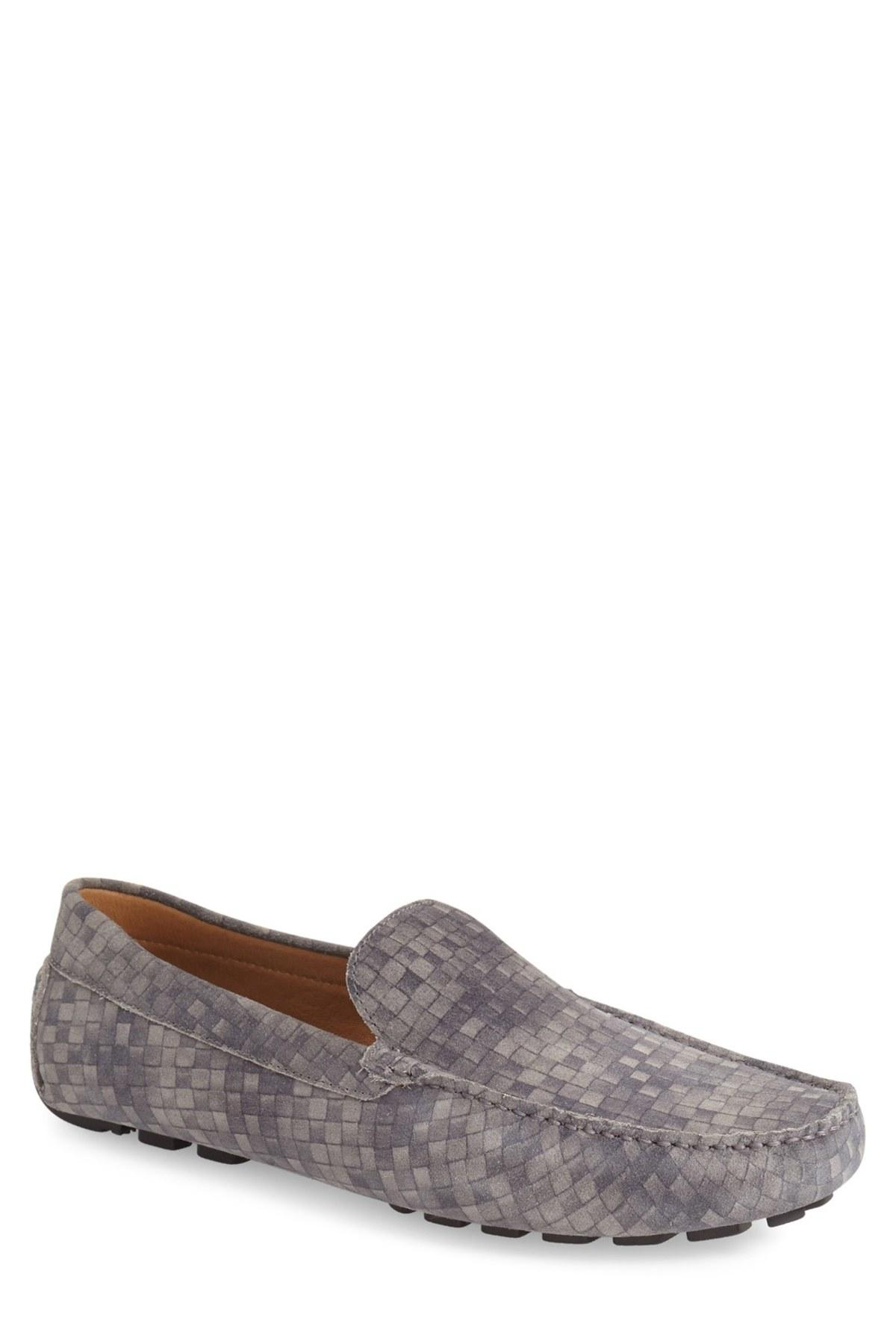 Zanzara U0026#39;davinciu0026#39; Driving Loafer In Gray For Men | Lyst