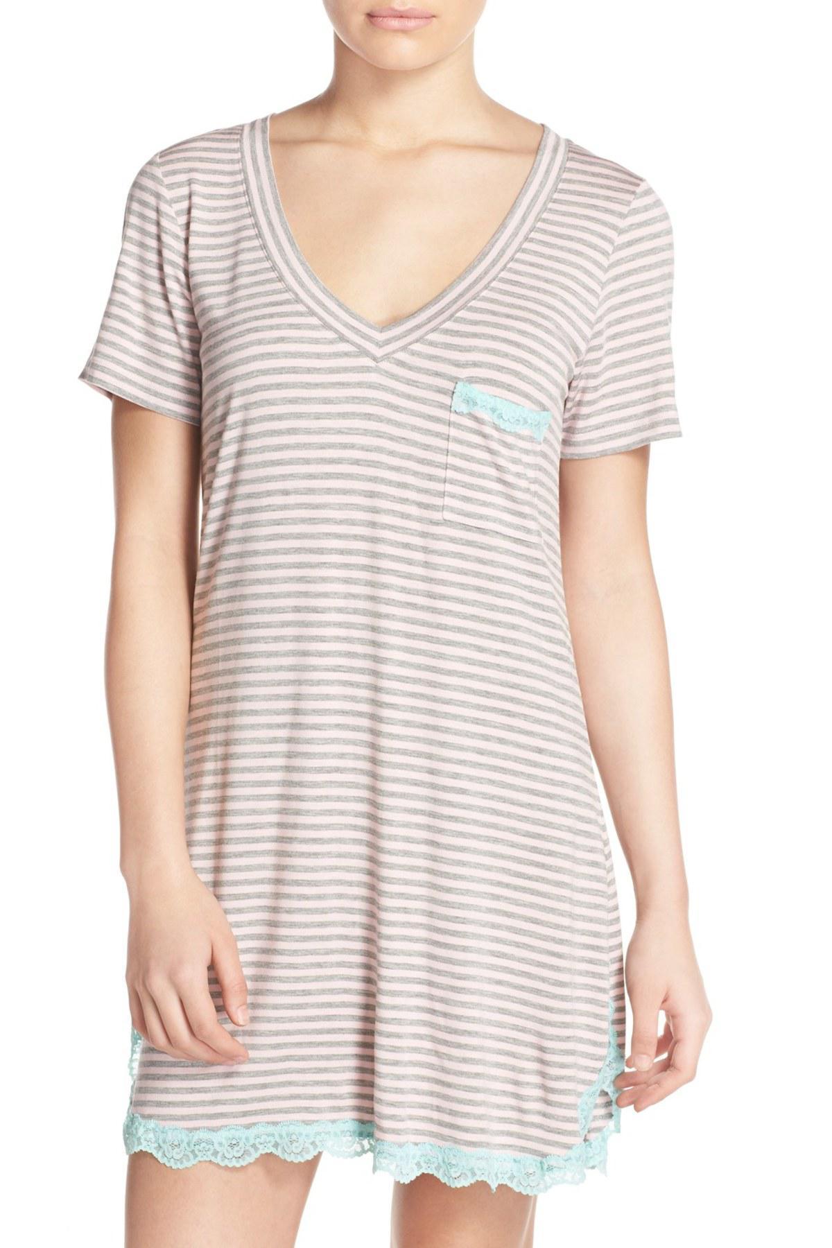 5ec176a422 Lyst - Honeydew Intimates  all American  Sleep Shirt (2 For  60)