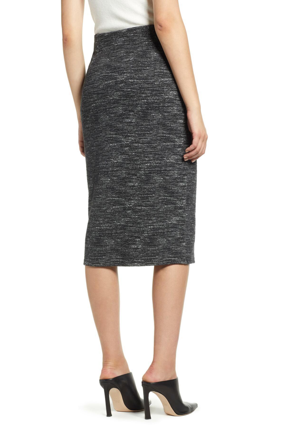 a37f00cdd Lyst - Halogen (r) Side Zip Ponte Pencil Skirt (regular & Petite) in ...