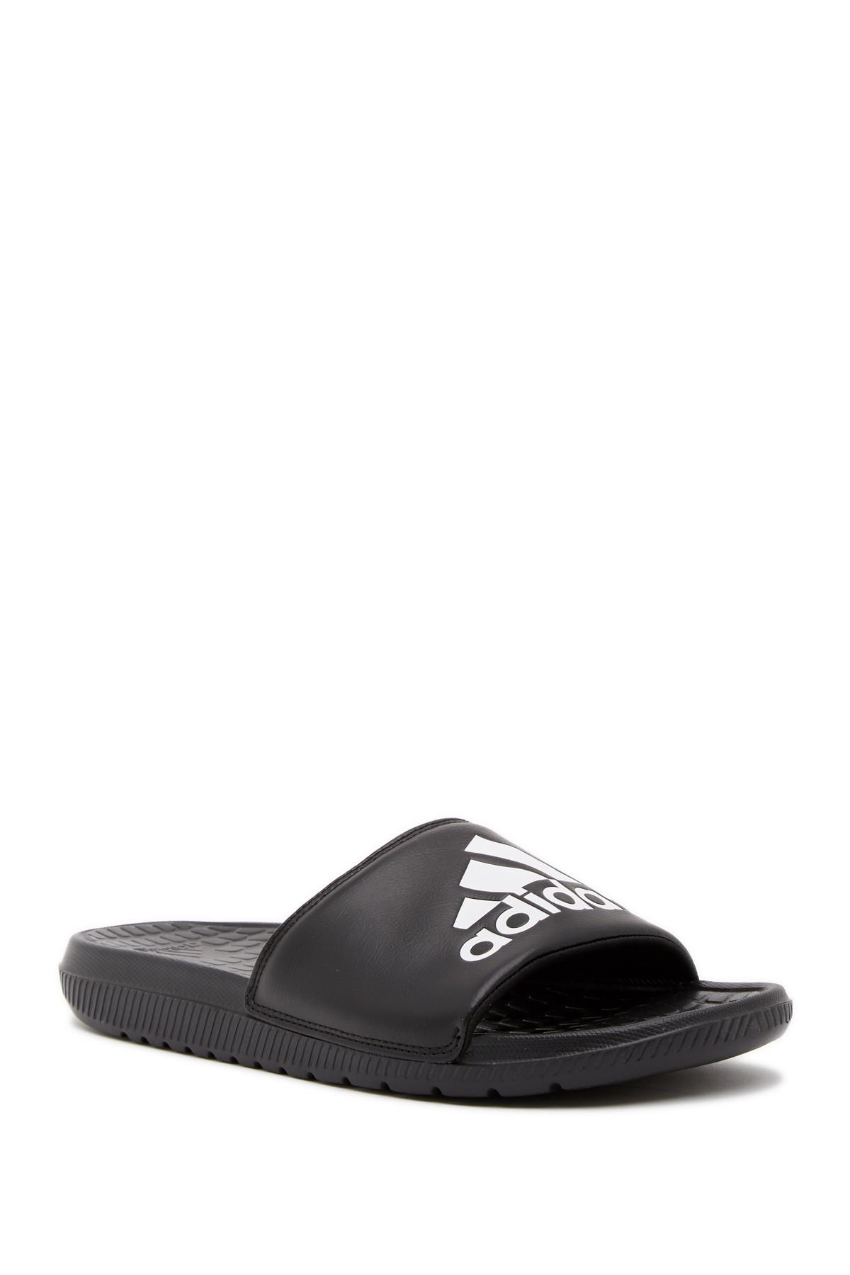 6f6f03731a28 Lyst - adidas Voloomix Slide Sandal in Black for Men
