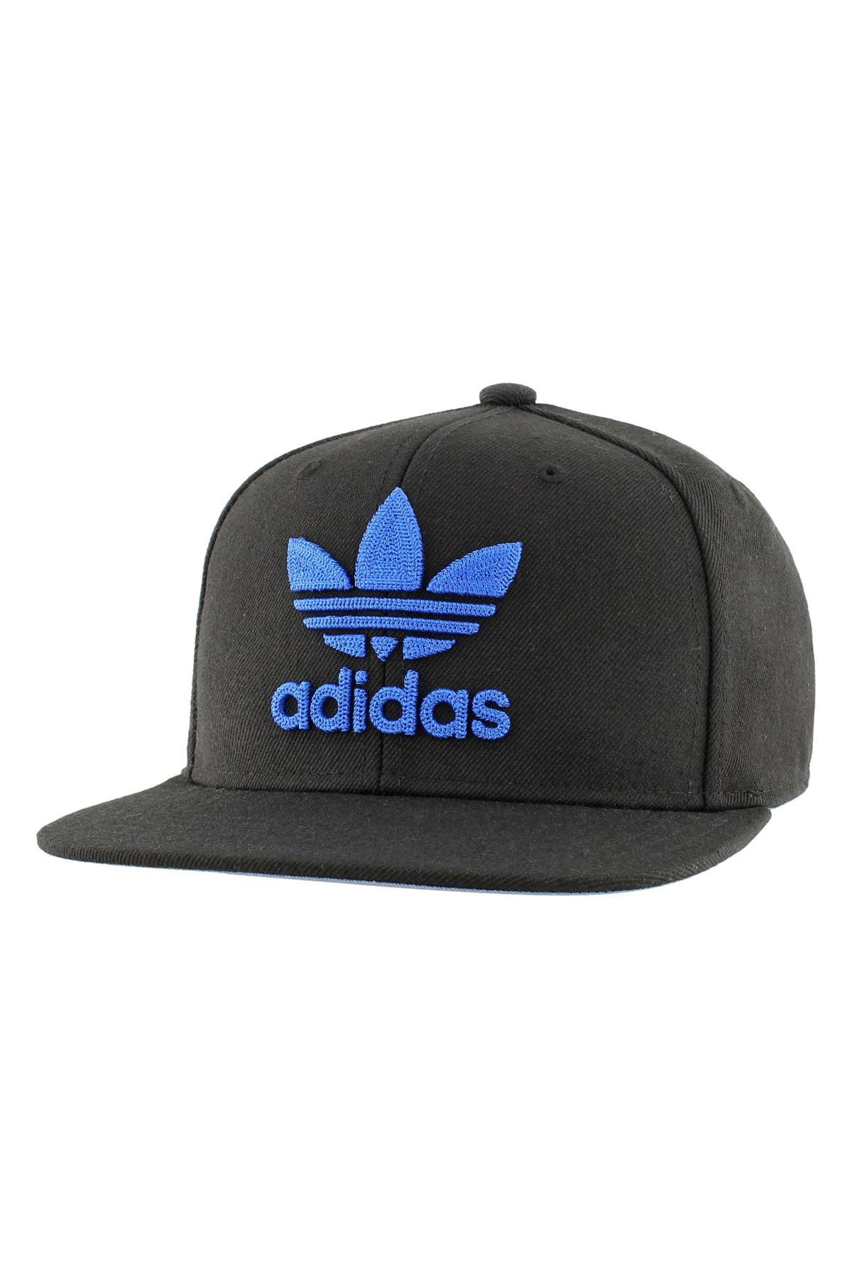 d44e1ee70eb Lyst - adidas Originals Trefoil Chain Snapback in Black for Men