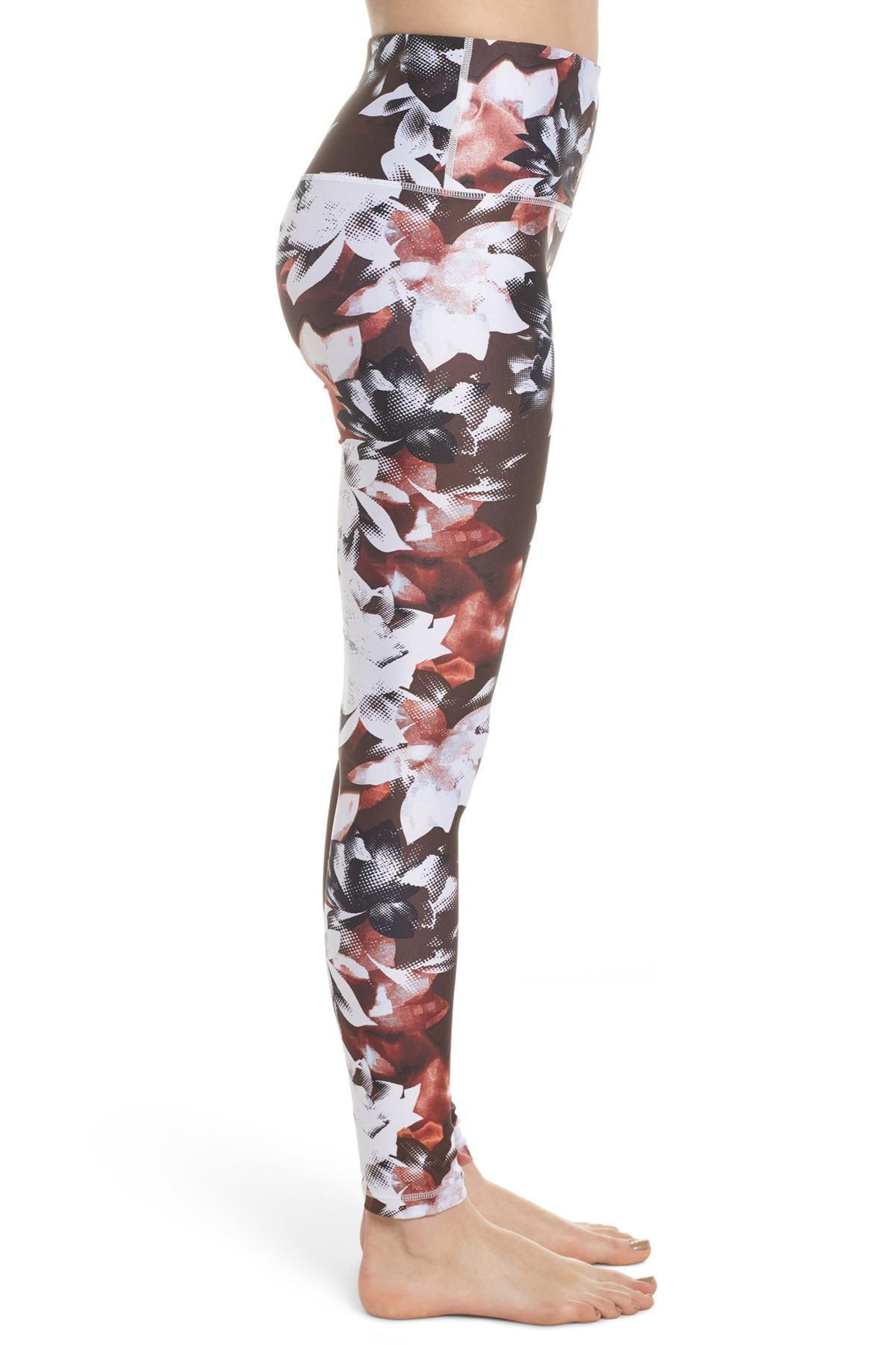 35b157f18b461 Zella Print Slick High Waist Leggings - Lyst