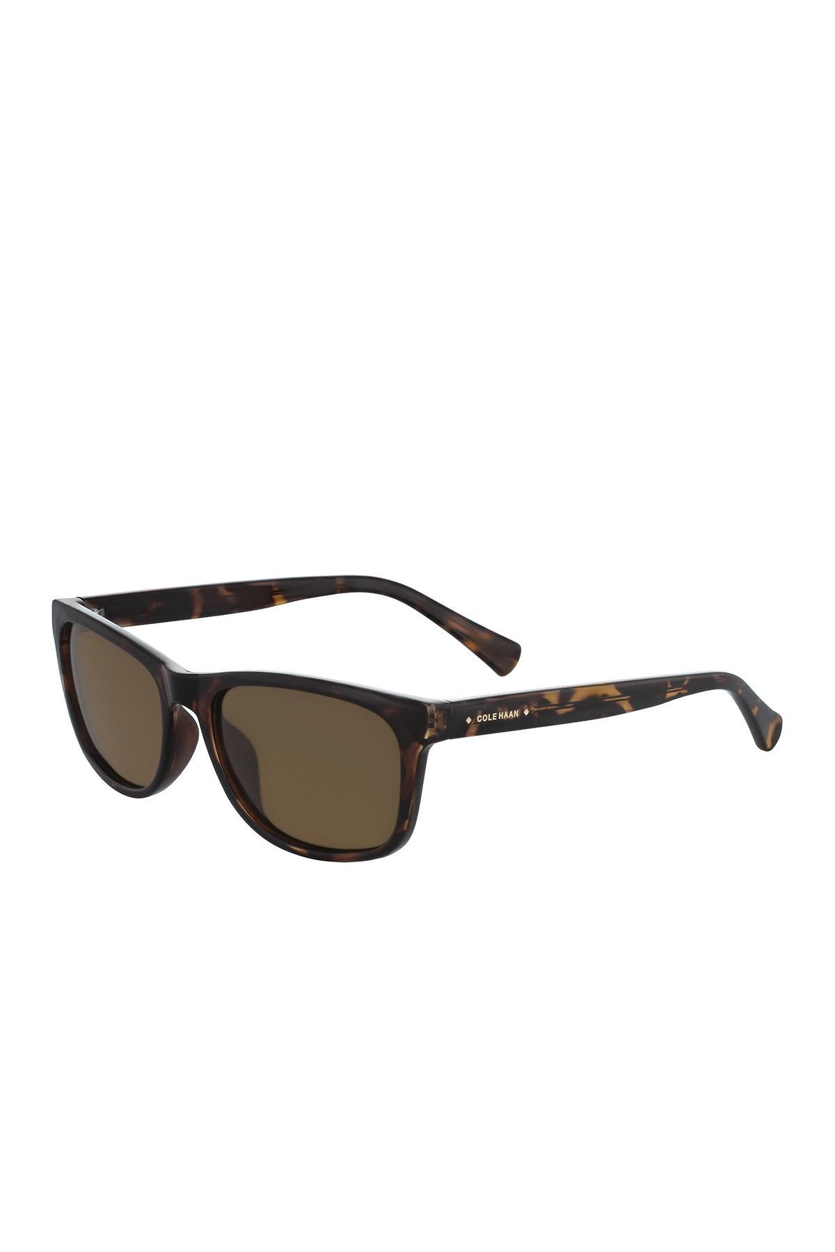 Lyst - Cole Haan Men\'s Retro Acetate Frame Sunglasses in Brown for Men
