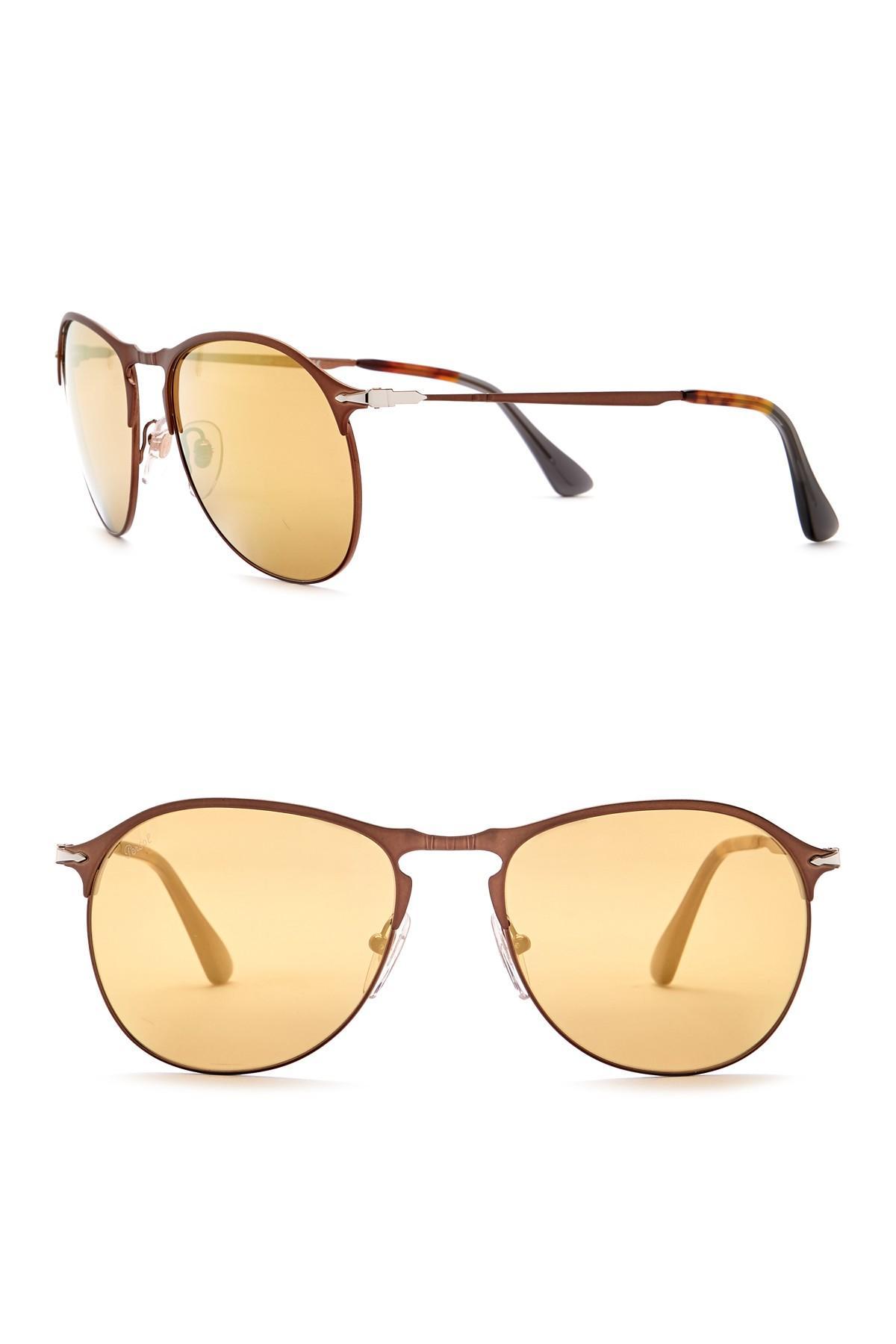 e093b3b8c7 Lyst - Persol 56mm Sartoria Sunglasses for Men - Save 18%