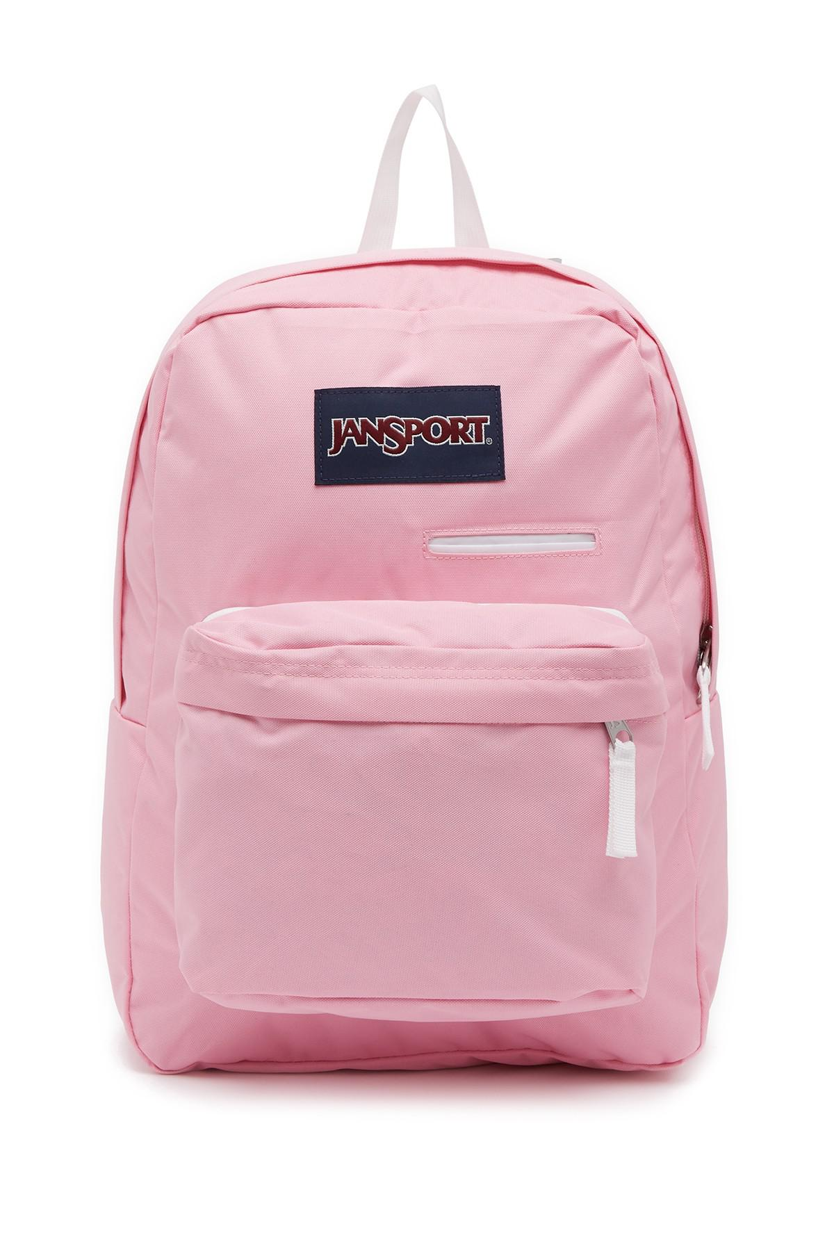e13b4aec01 Lyst - Jansport Digibreak Prism Pink Backpack in Pink