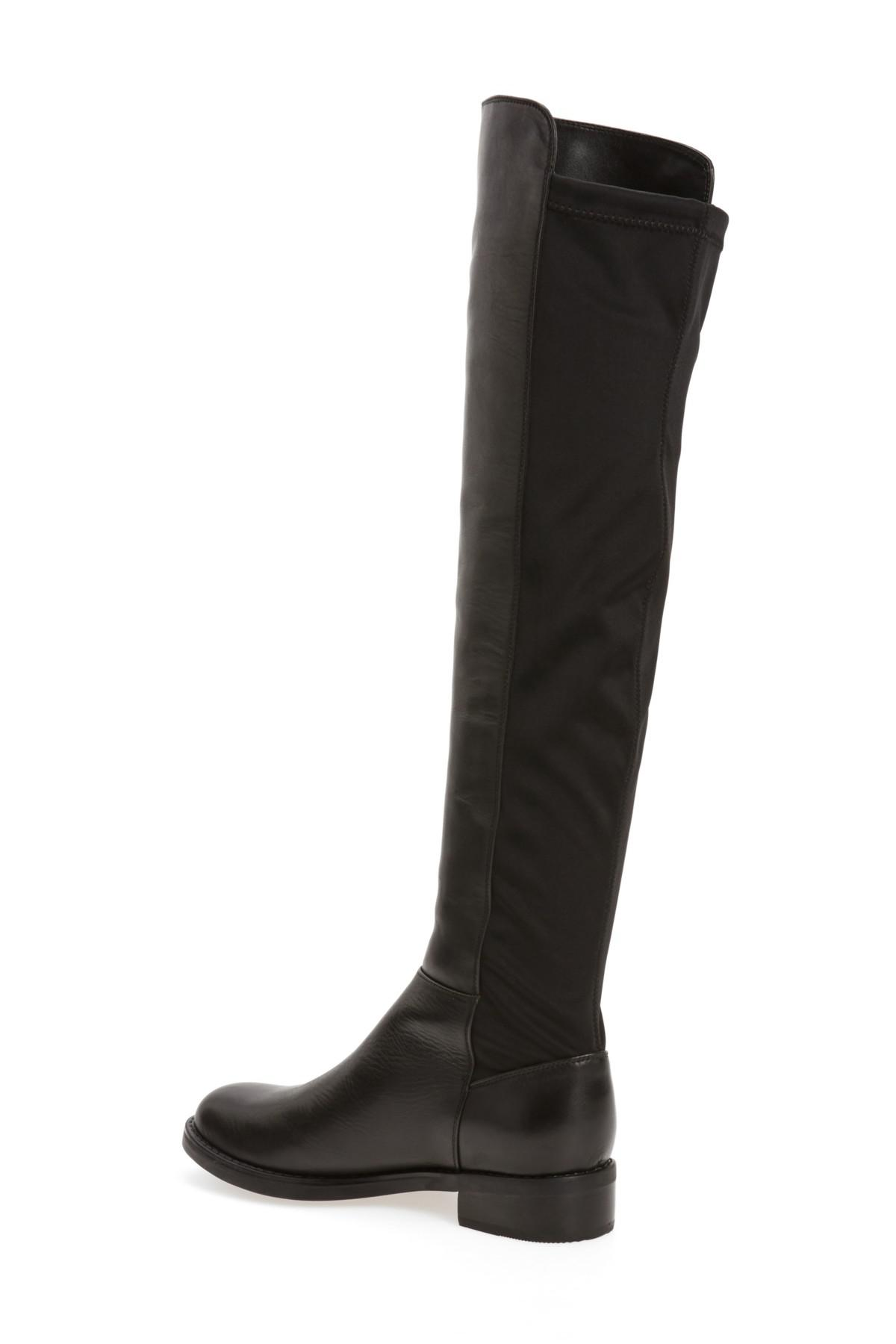 36bd4d55a9c Blondo - Black Olivia Knee High Boot - Lyst. View fullscreen
