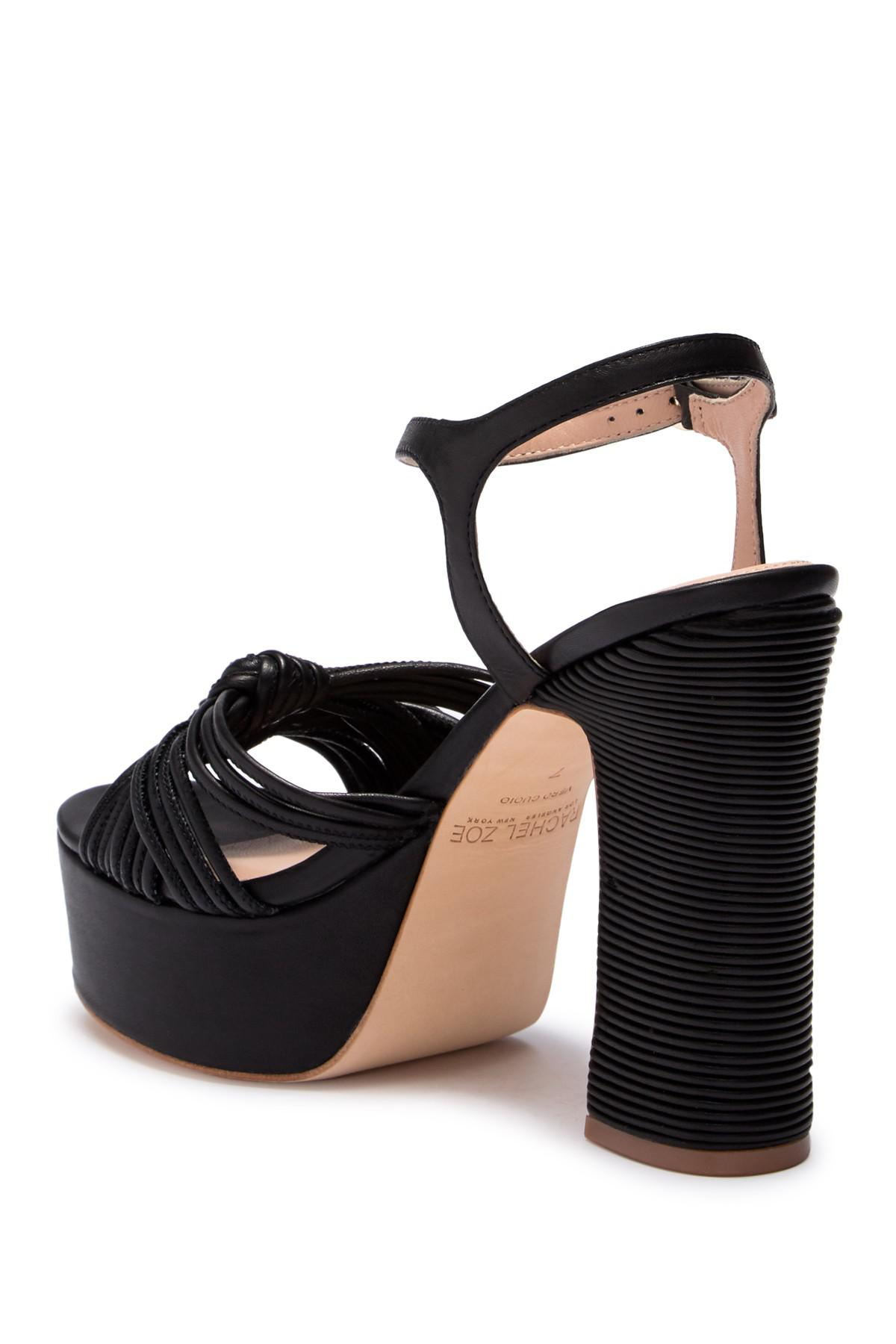 Rachel Zoe Avery Nappa Platform Sandal rFaHmmAwtW
