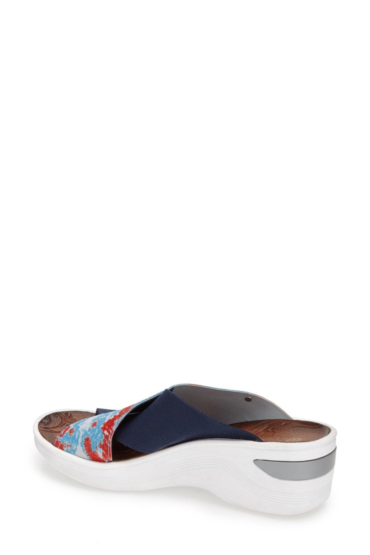 BZEES Desire Wedge Sandal - Wide Width Available 6goABq
