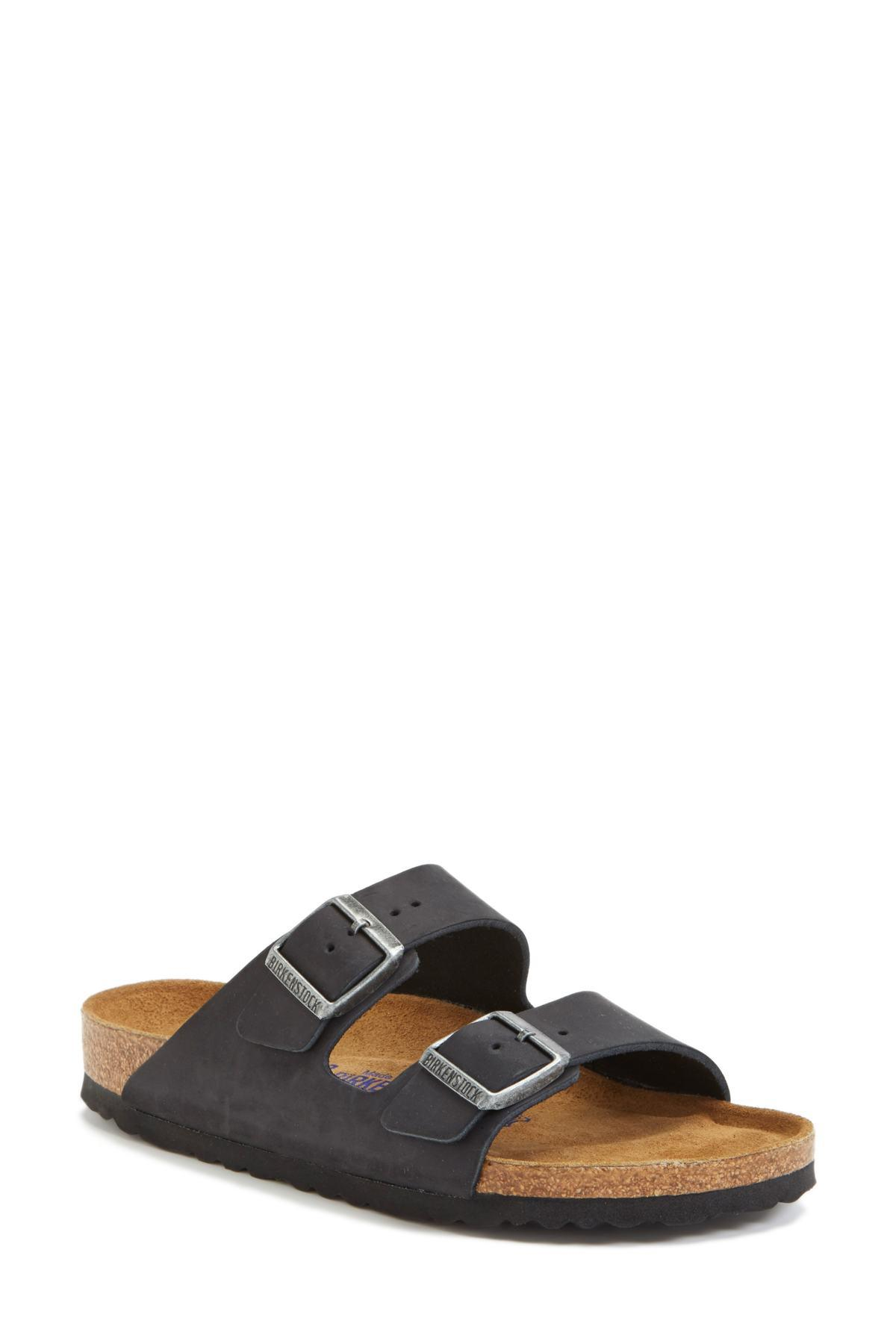780ac066b4f Birkenstock - Gray Arizona Soft Footbed Sandal (women) (exclusive Color) -  Lyst. View fullscreen