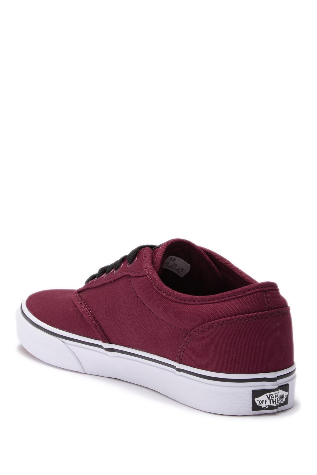 60341ef6f1 Vans - Red Atwood Sneaker for Men - Lyst. View fullscreen