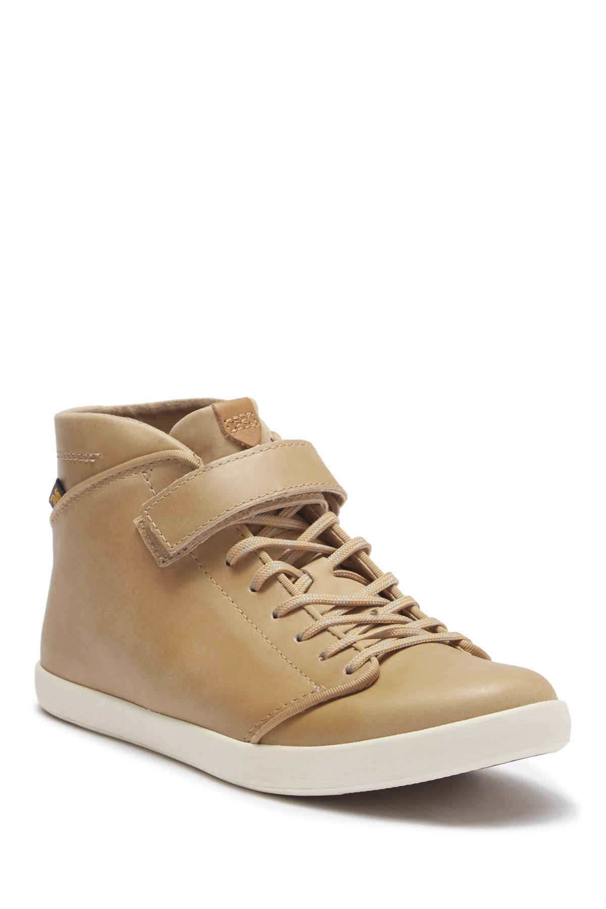 Teva Willow Leather Chukka Sneaker ZhRJ3AgLA