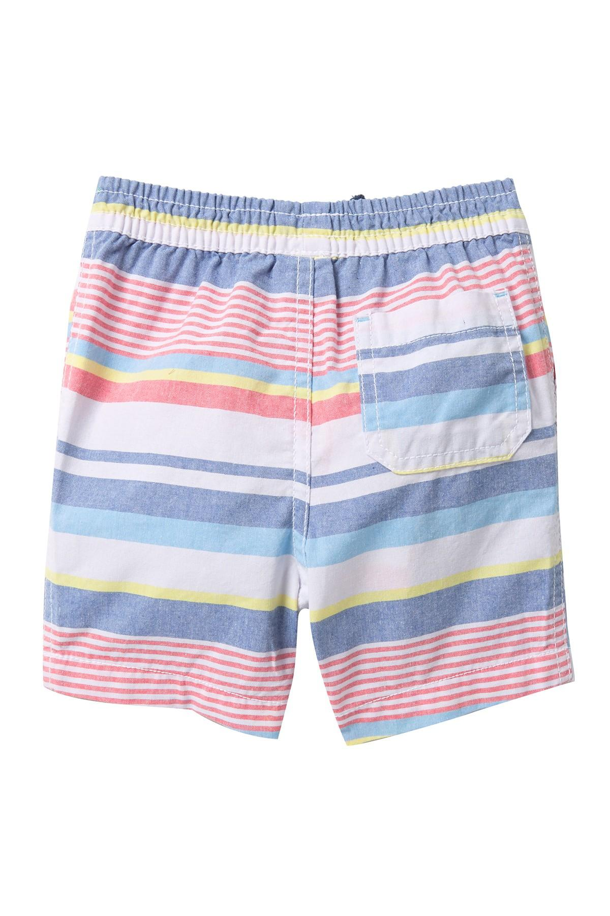 acf26badbb Joe Fresh Striped Shorts (baby Boys) in White for Men - Lyst