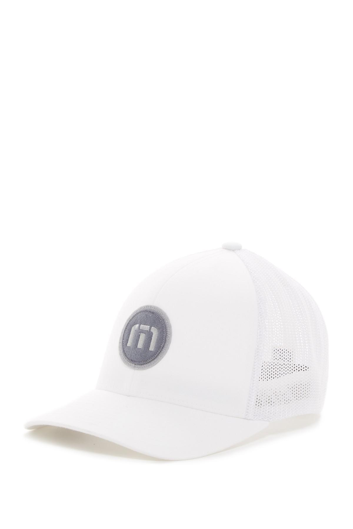 promo code 68ab5 f9645 ... italy lyst travis mathew allen trucker hat in white for men 66376 e5542