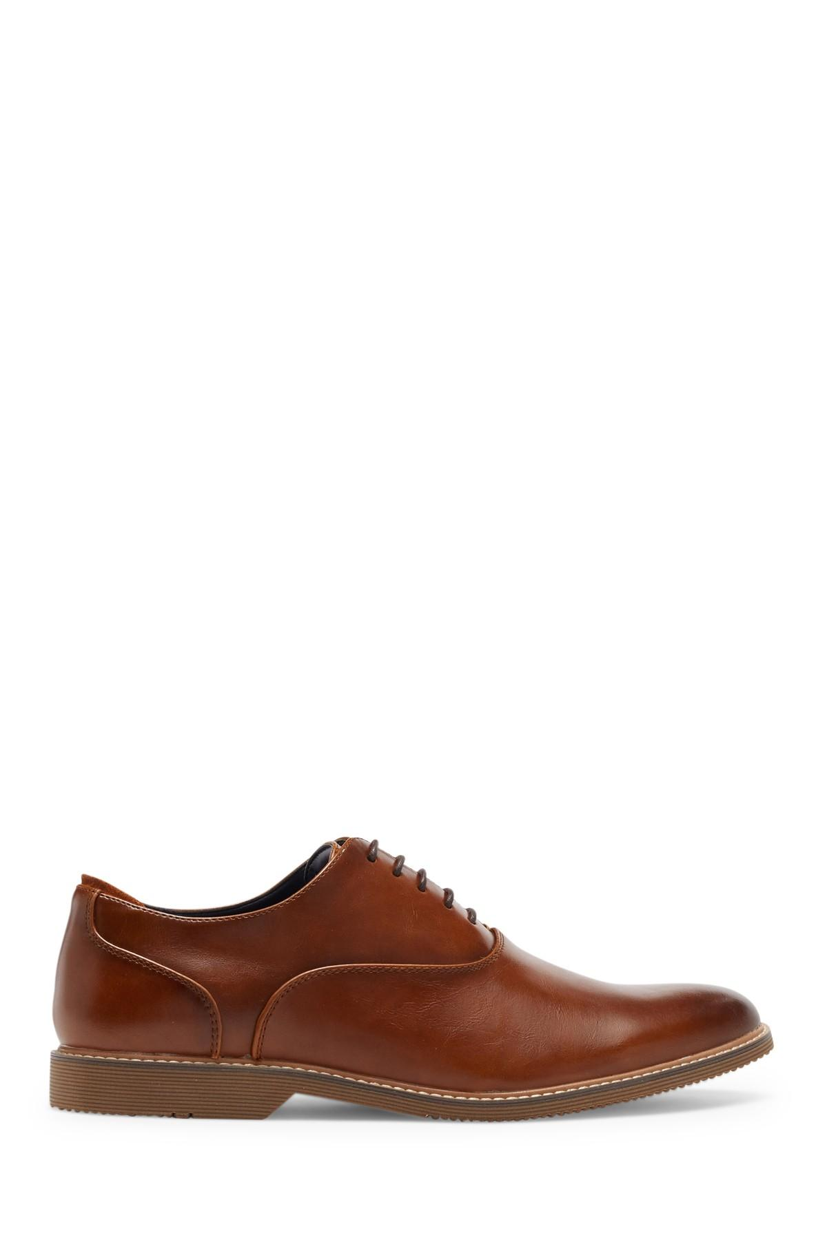 6bc55aac8c2 Steve Madden - Brown Ollie Leather Oxford for Men - Lyst. View fullscreen