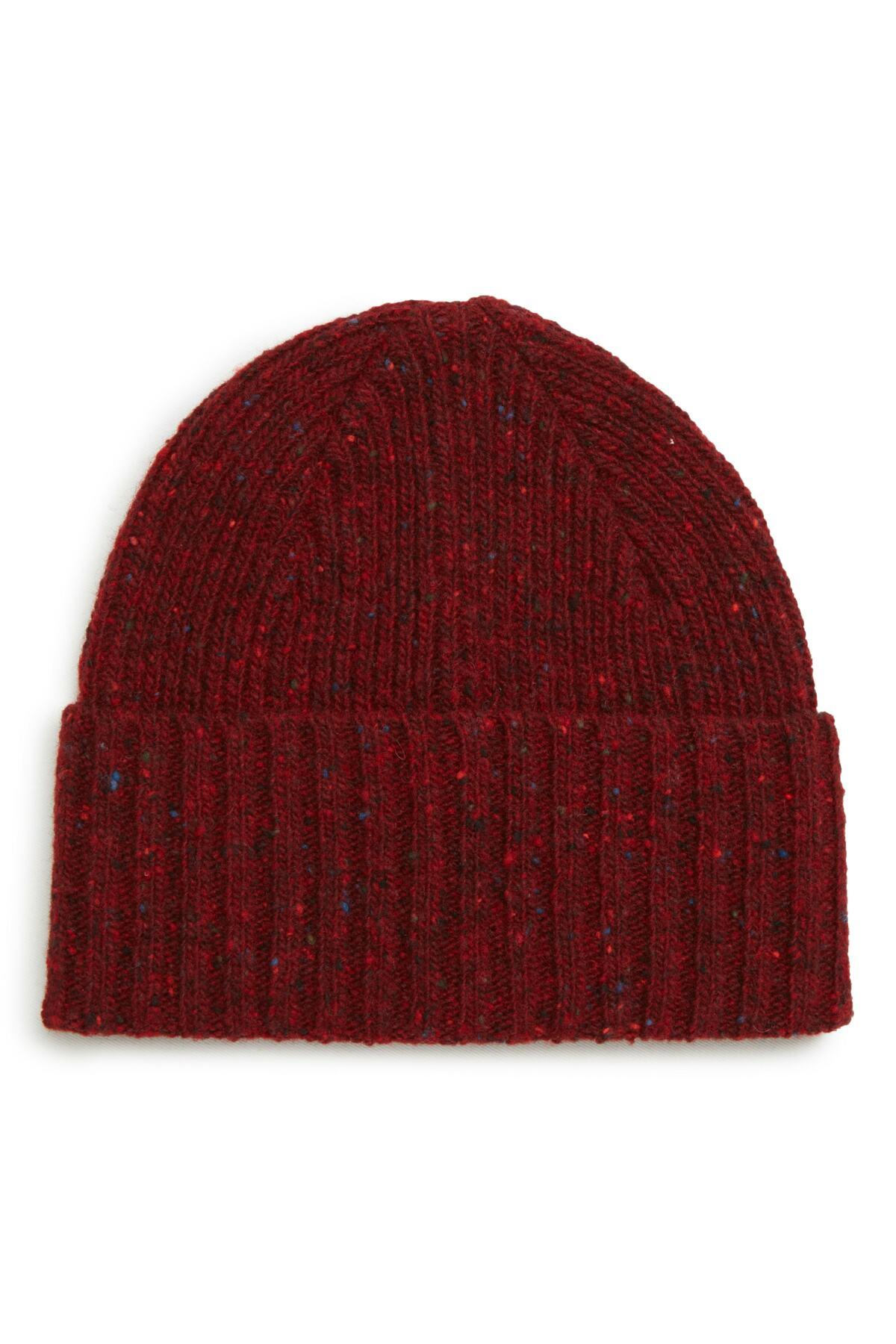10764097174 Lyst - Drake s Donegal Wool Beanie in Red for Men