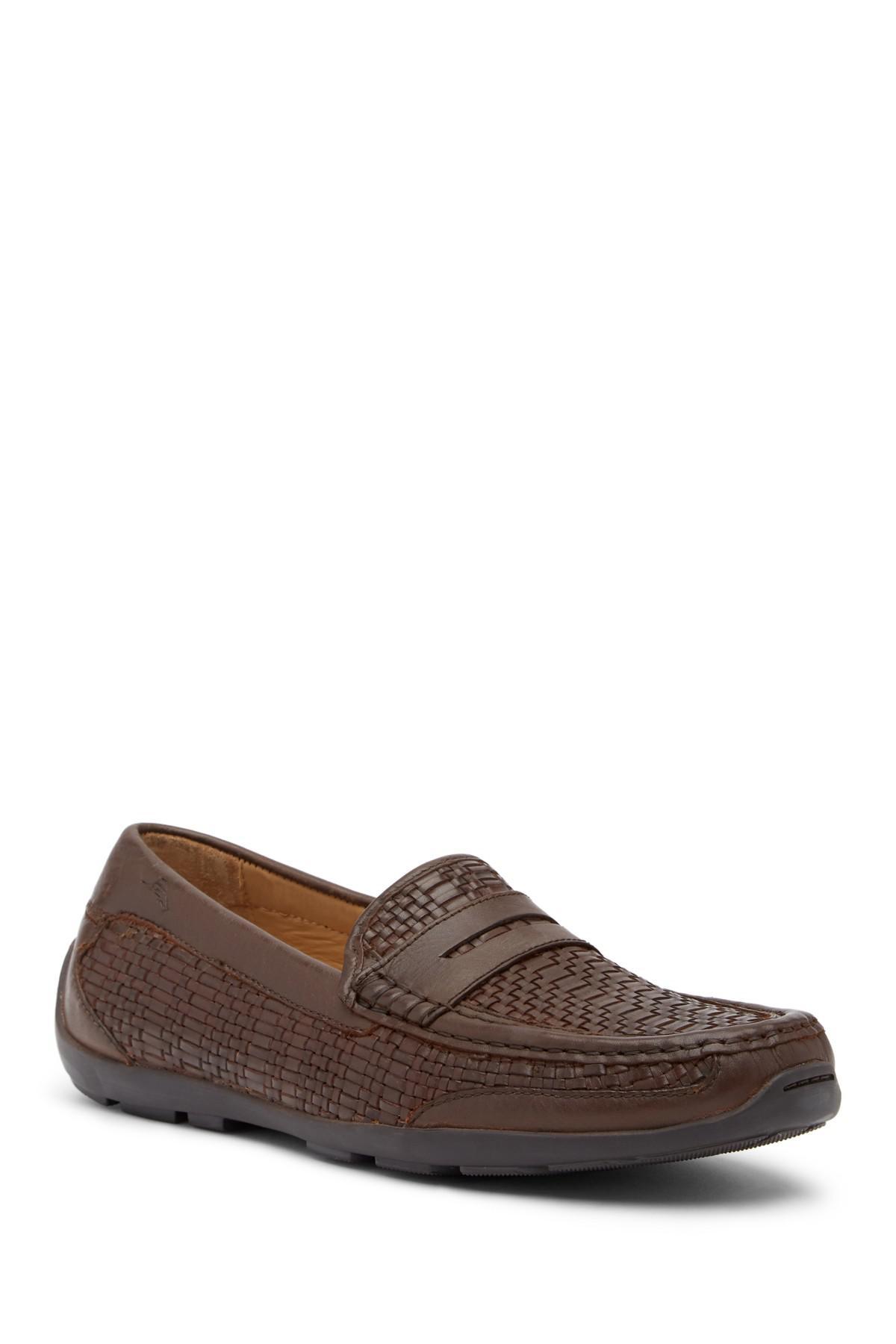 Tommy Bahama Taza Fronds Woven Leather Loafer 4VrLBRg4E
