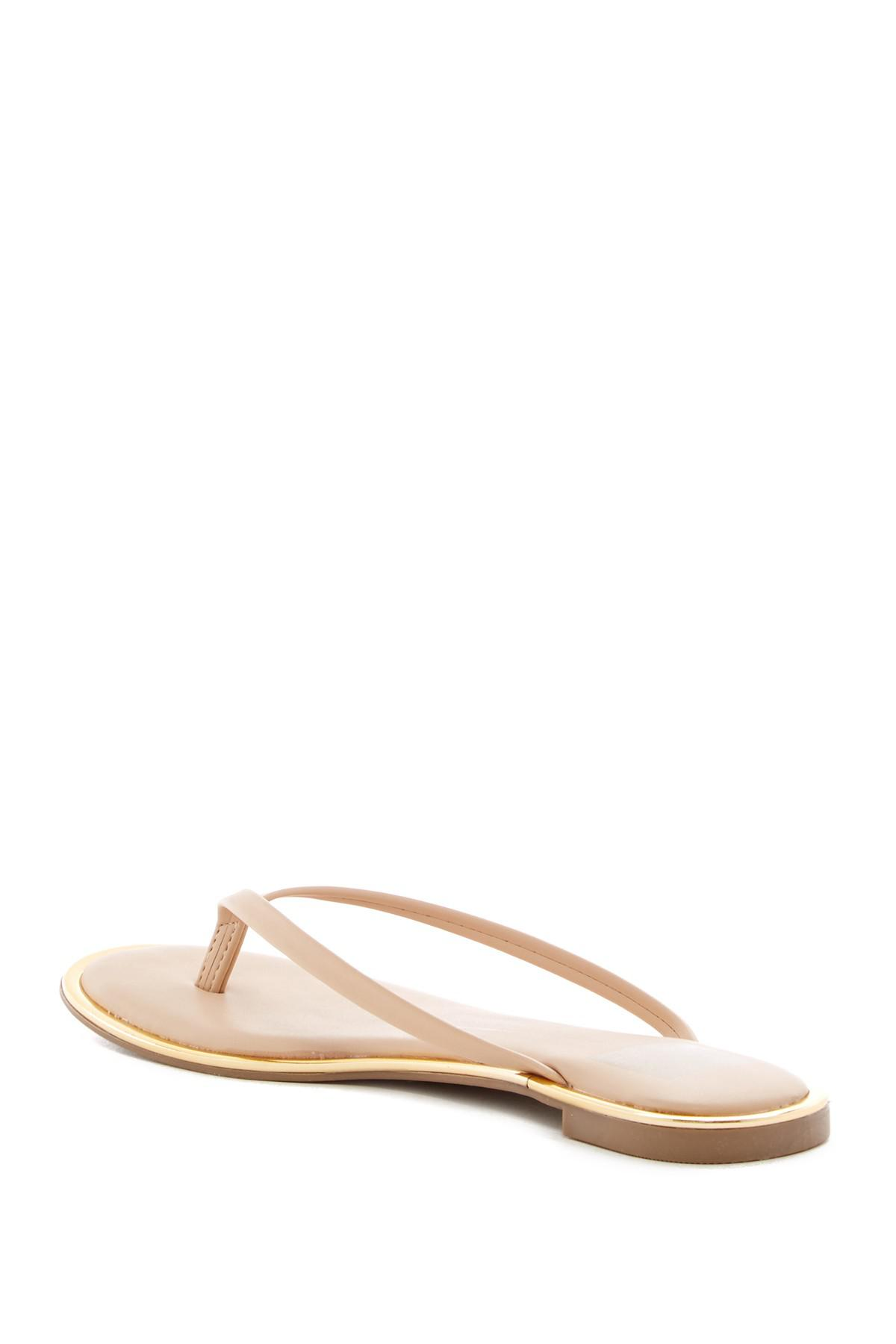 Dolce Vita Dv By Tabby Platform Wedge Sandals in Nude