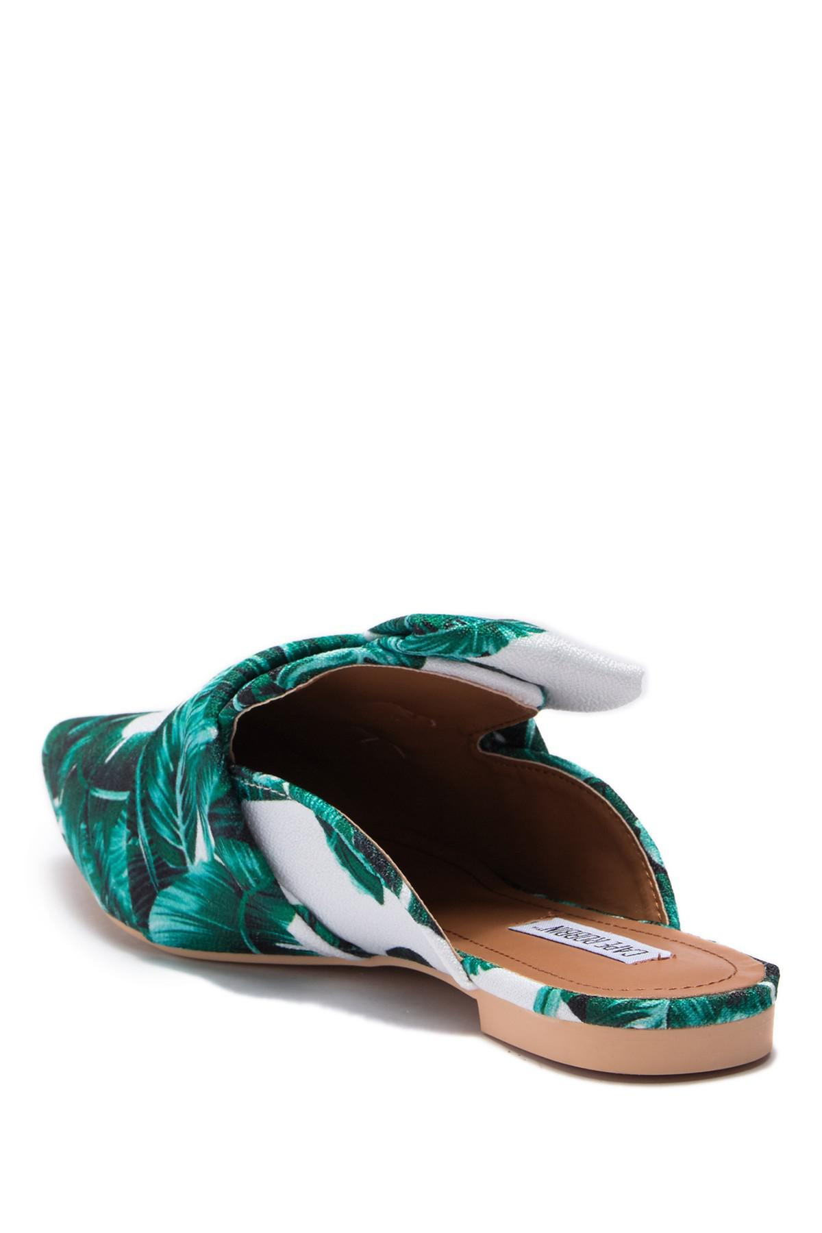 c512d43271e2 Lyst - Cape Robbin Cell Slide Mule Flat in Green