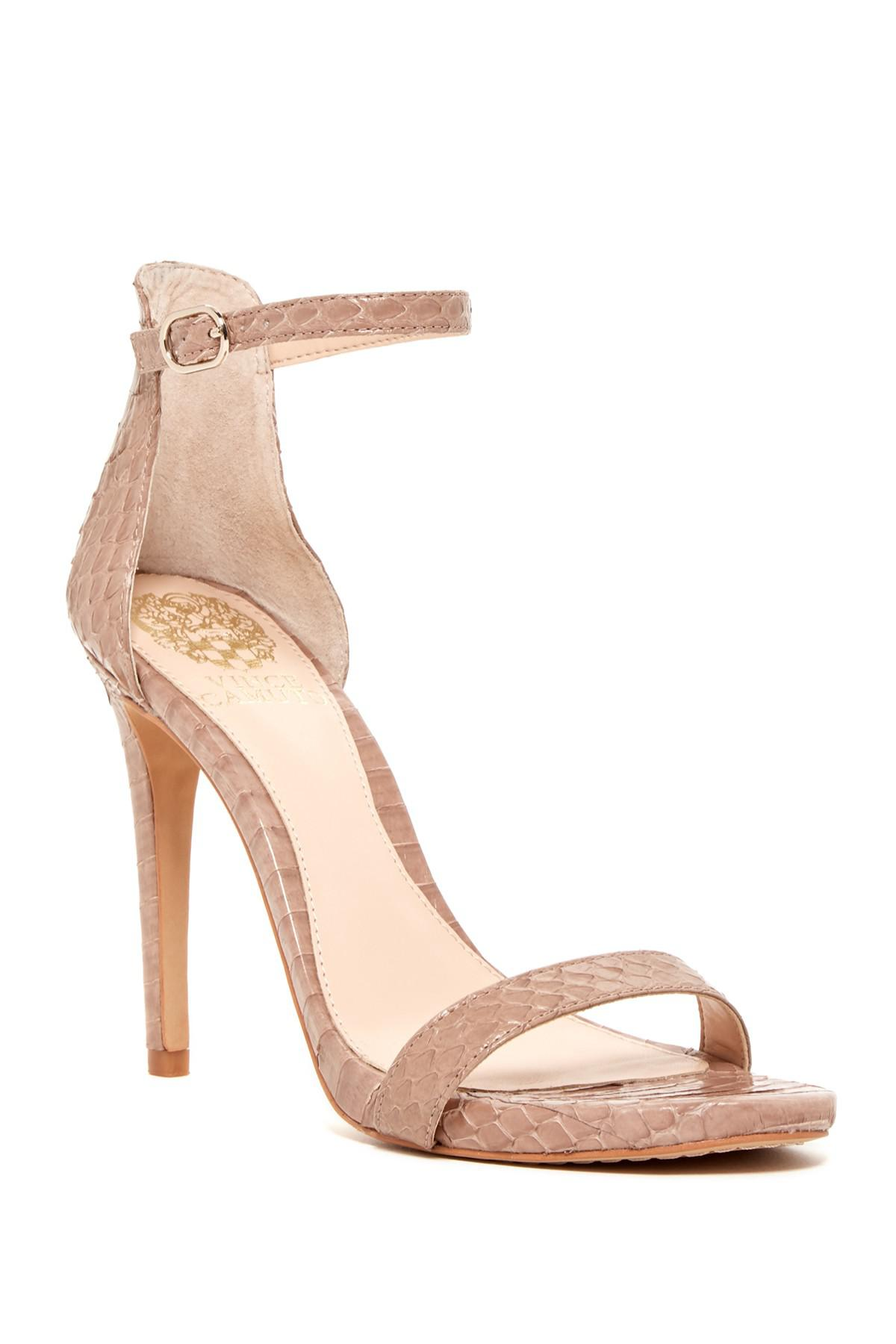 b7ce625cdea Lyst - Vince Camuto Frenchie Heel Sandal