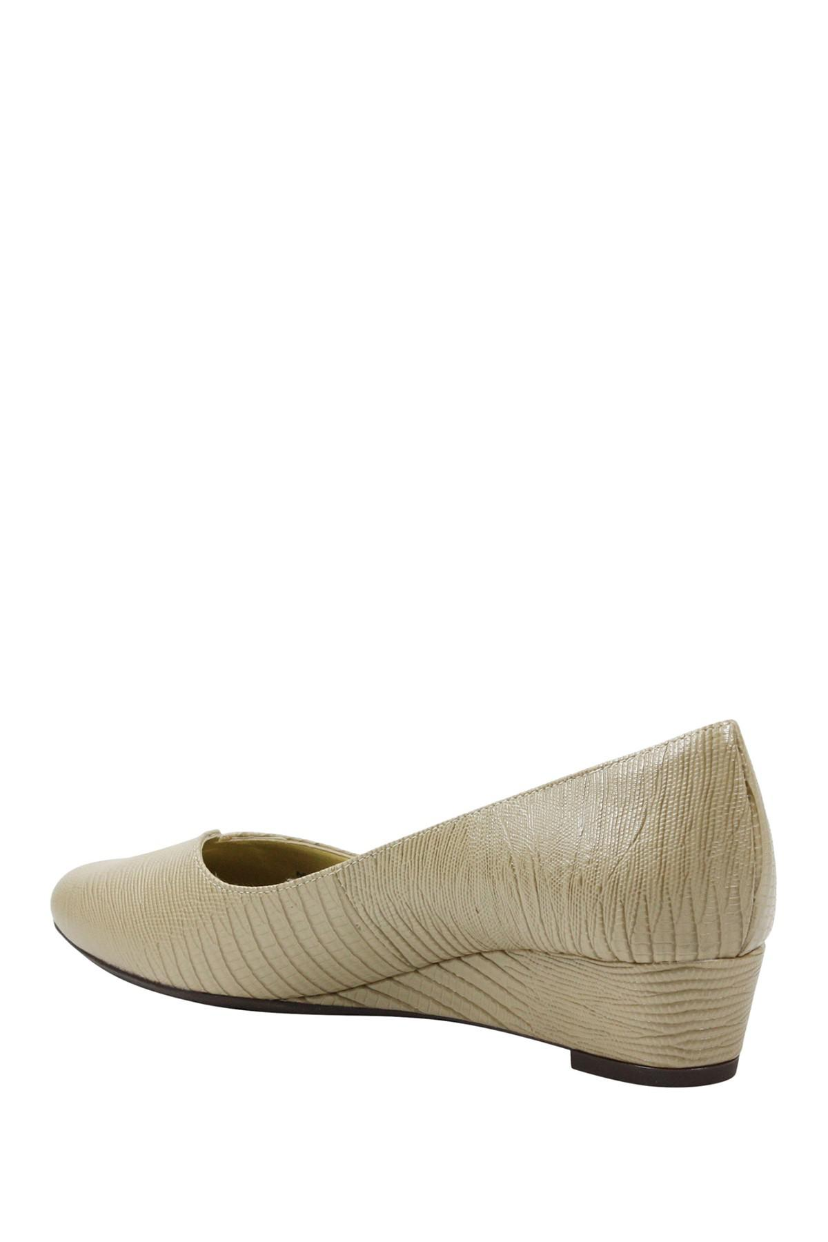 2eaef584195 Lyst - J. Reneé Choncey Leather Slip-on Wedge - Wide Width Available