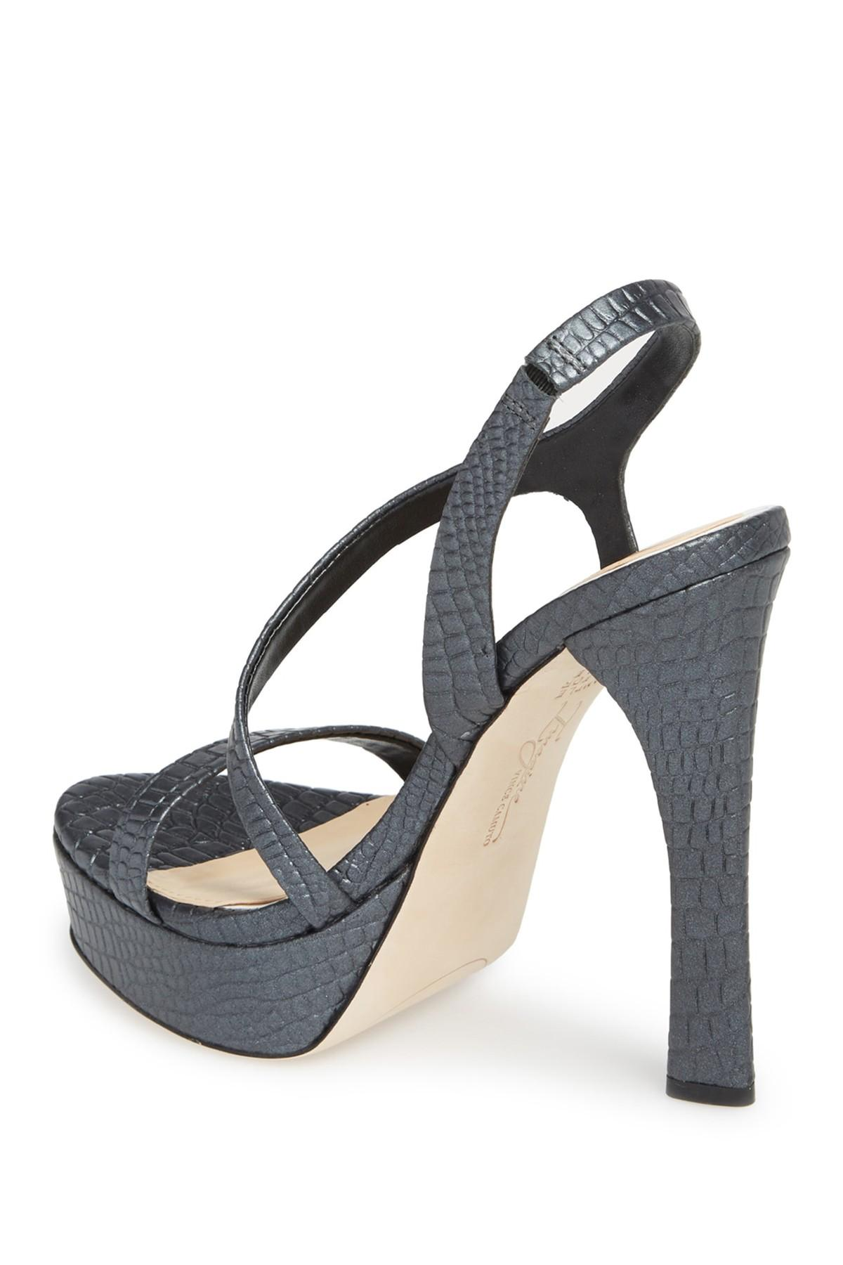 047bc4d1d27c Lyst - Imagine Vince Camuto Prent Platform Sandal in Black - Save 42%