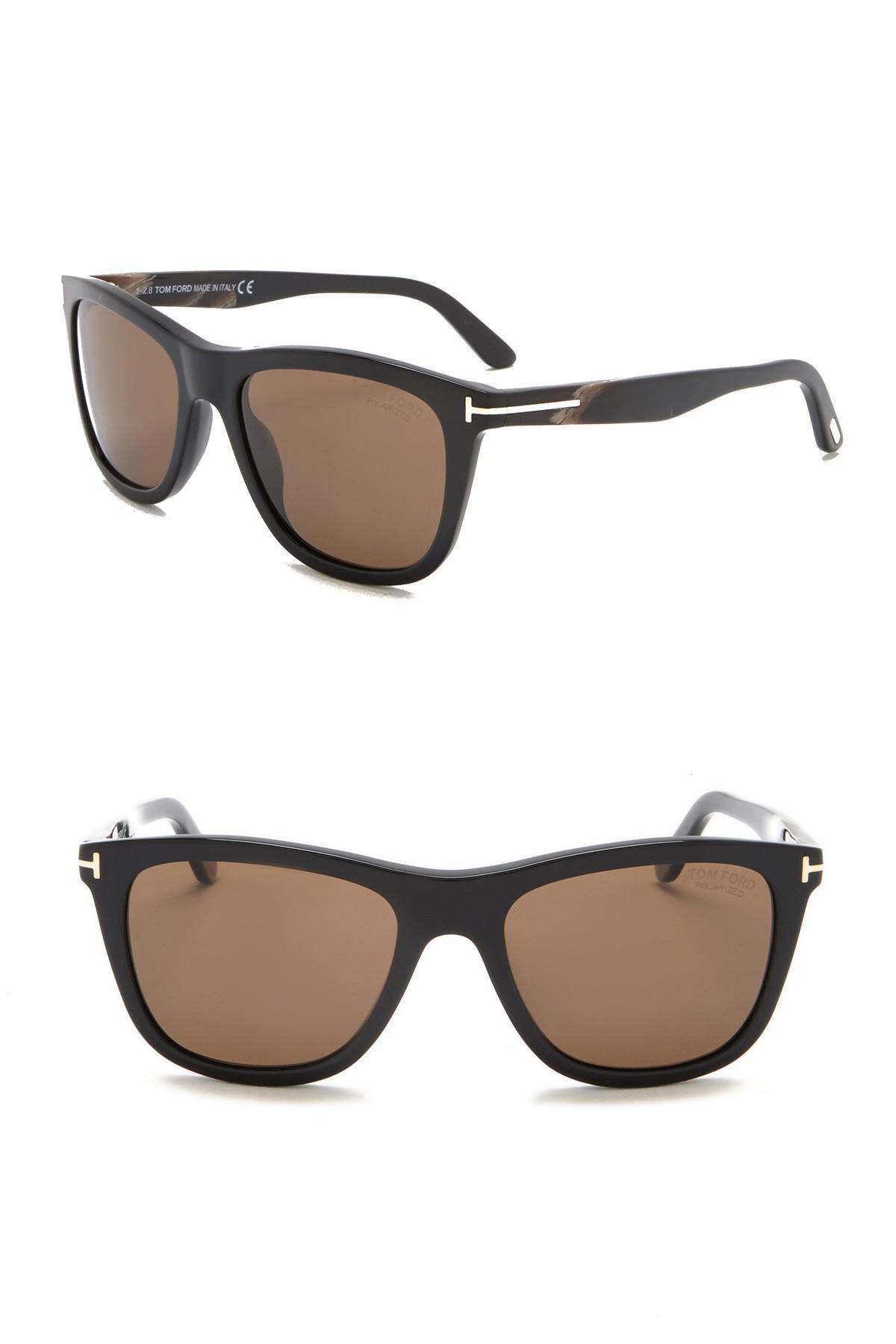 e065ed7c3cb34 Lyst - Tom Ford Andrew 54mm Retro Sunglasses in Brown for Men