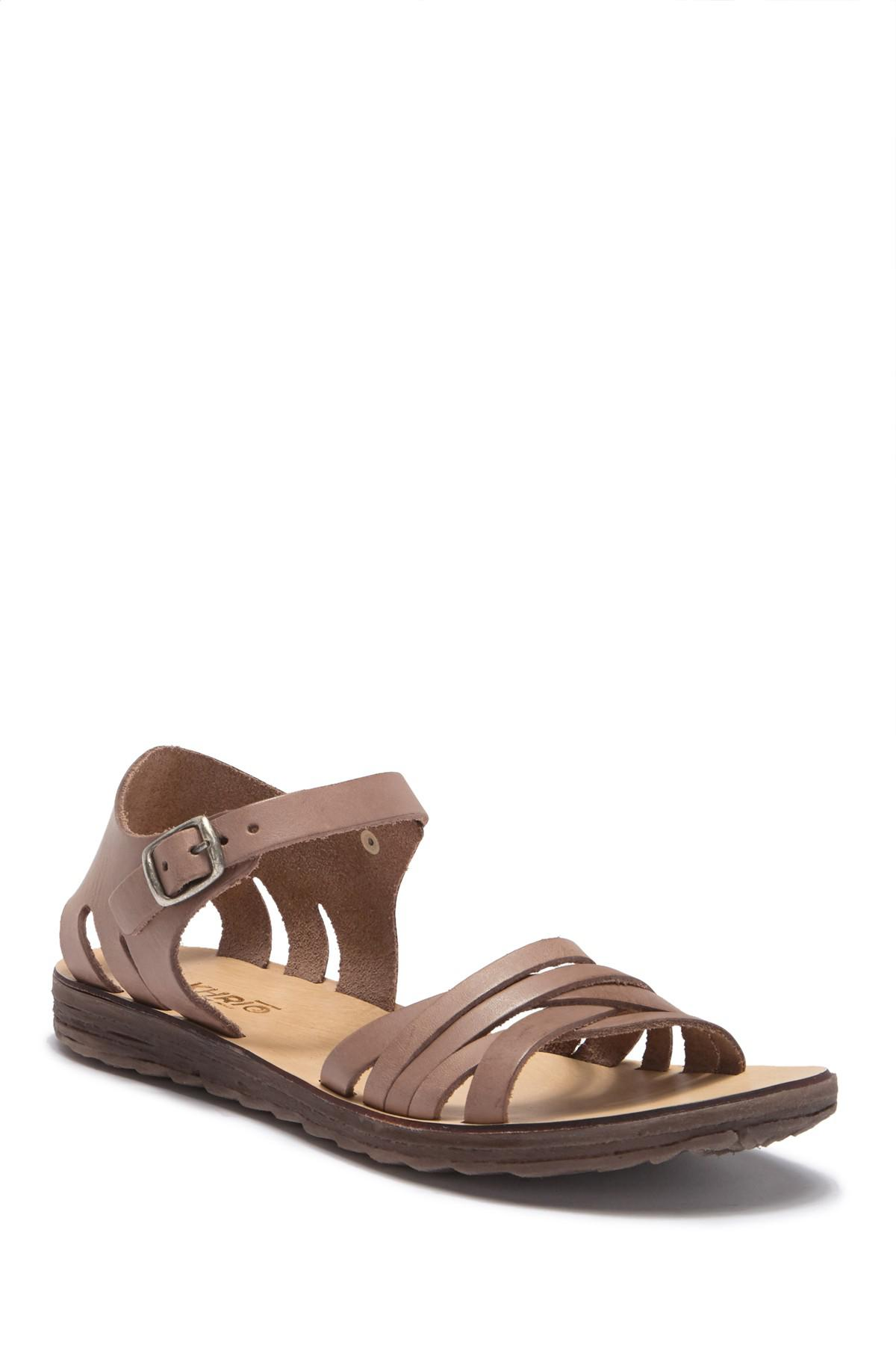 Khrio Ankle Strap Leather Sandal 1Lj1MdQmet
