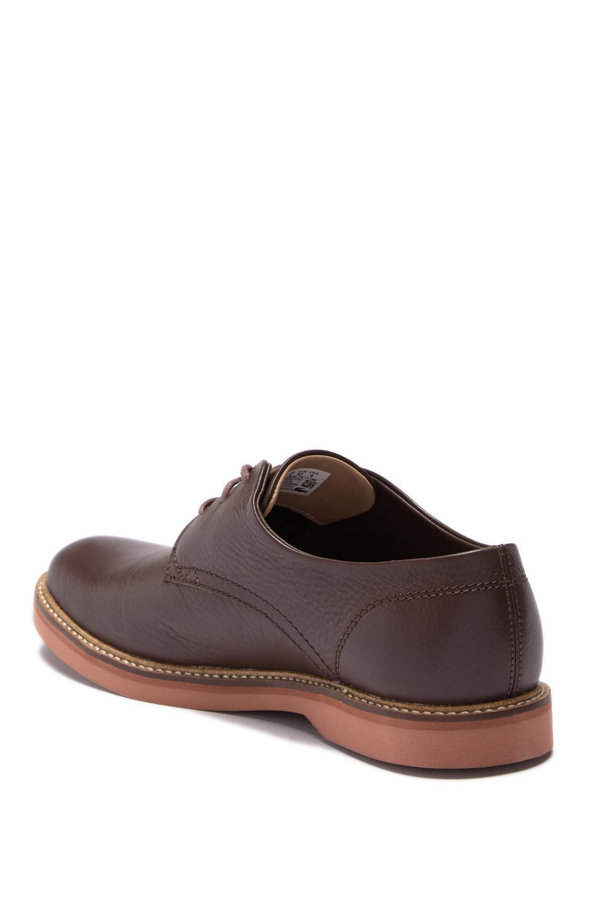 26797200e7ba Lacoste - Brown Sherbrooke 318 Leather Derby for Men - Lyst. View fullscreen