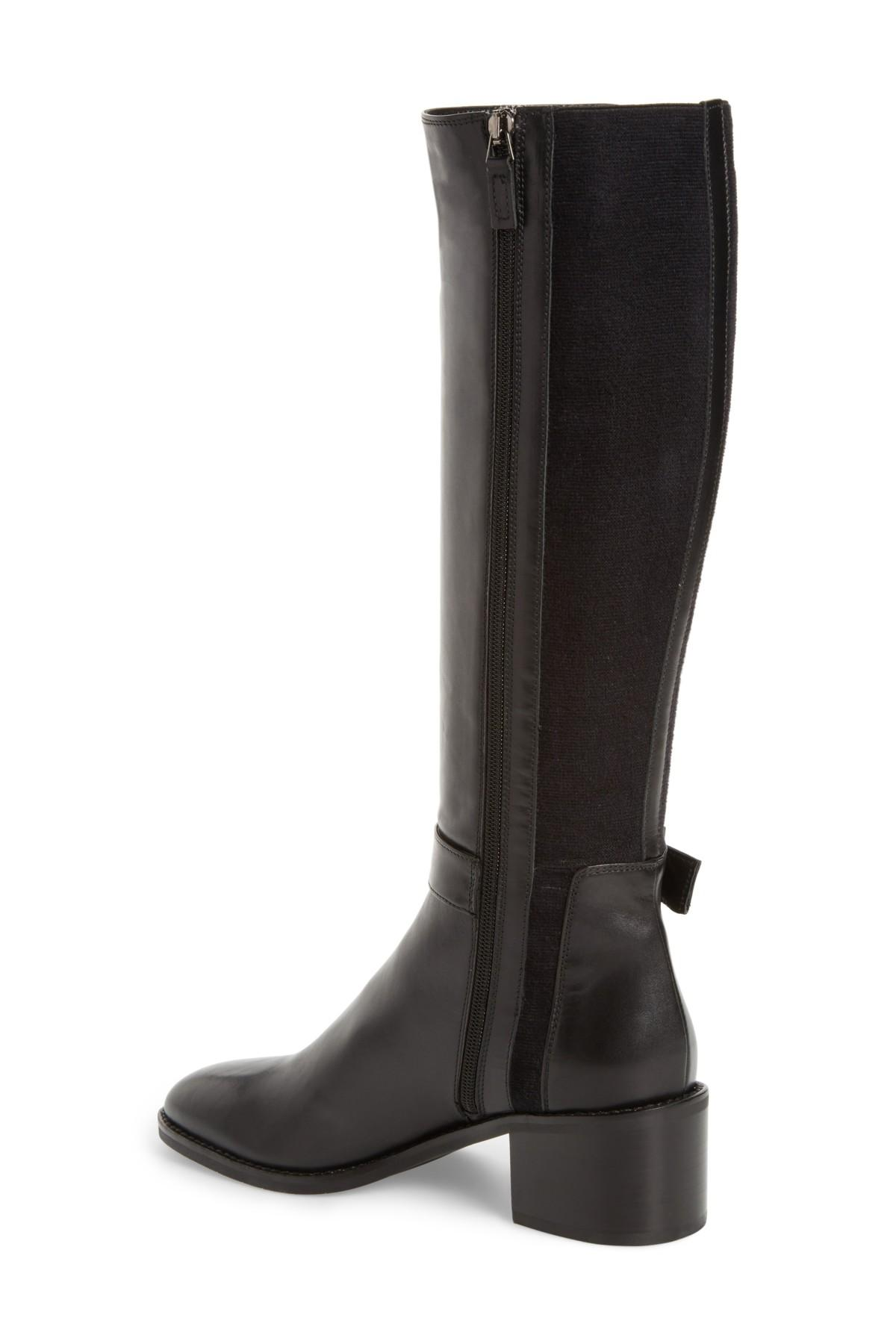 9f34855f23c Aquatalia Joanna Weatherproof Tall Boot in Black - Save ...