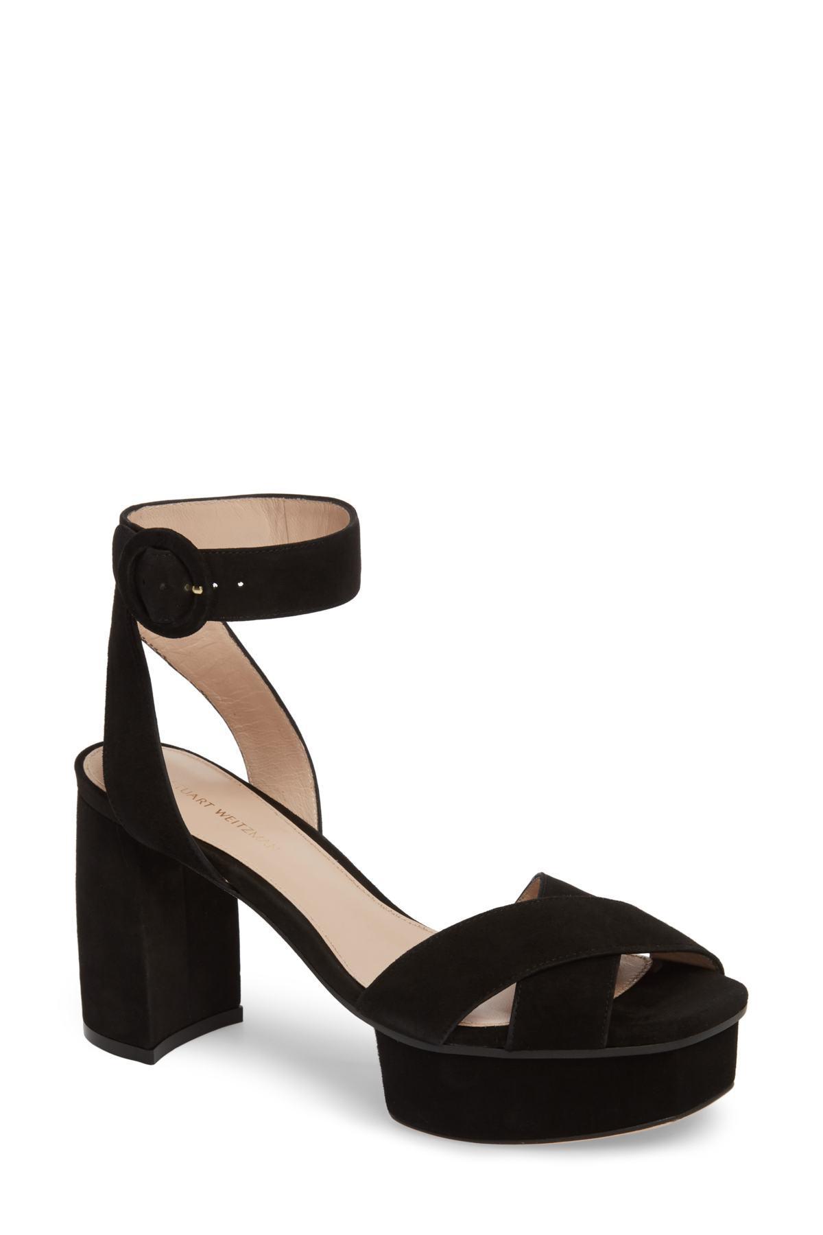 619daa0bb32 Lyst - Stuart Weitzman Shoes For Women in Black