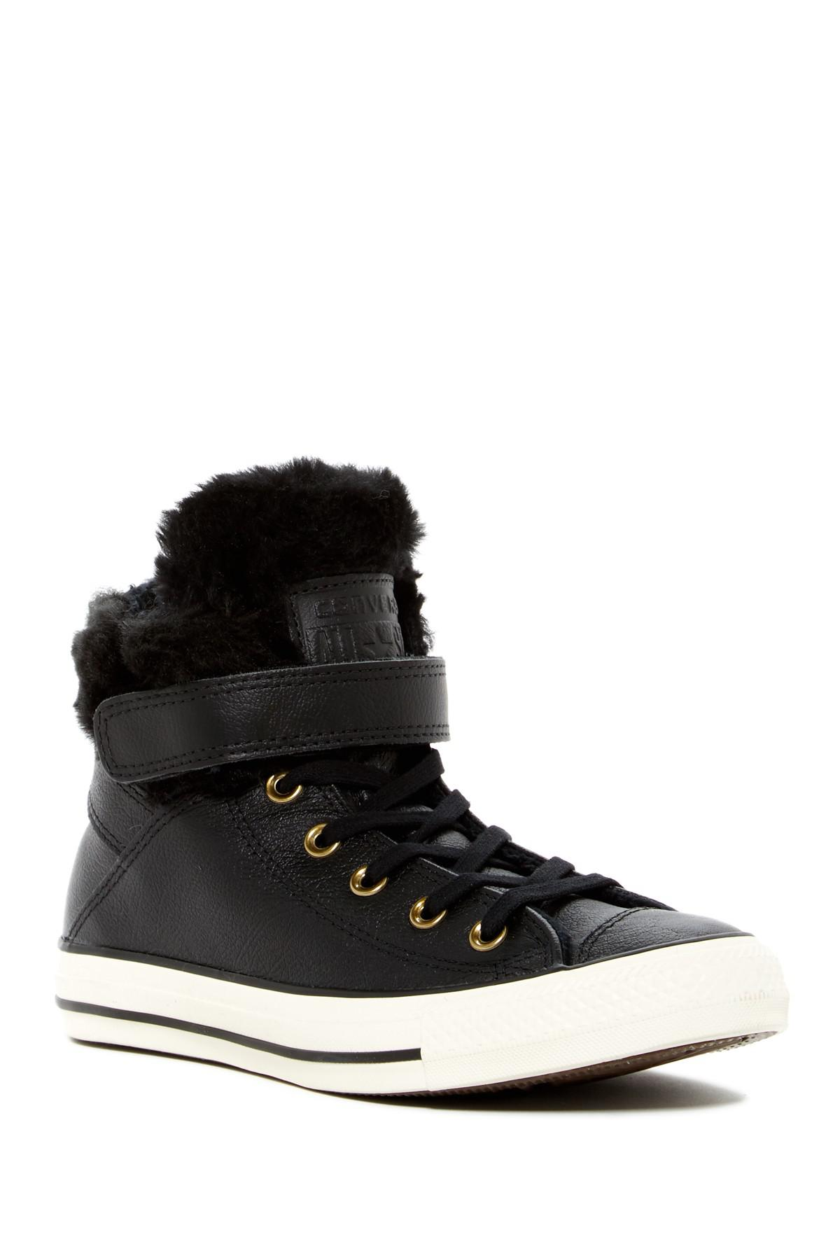 Converse Chuck Taylor All Star Faux Fur Lined Leather High