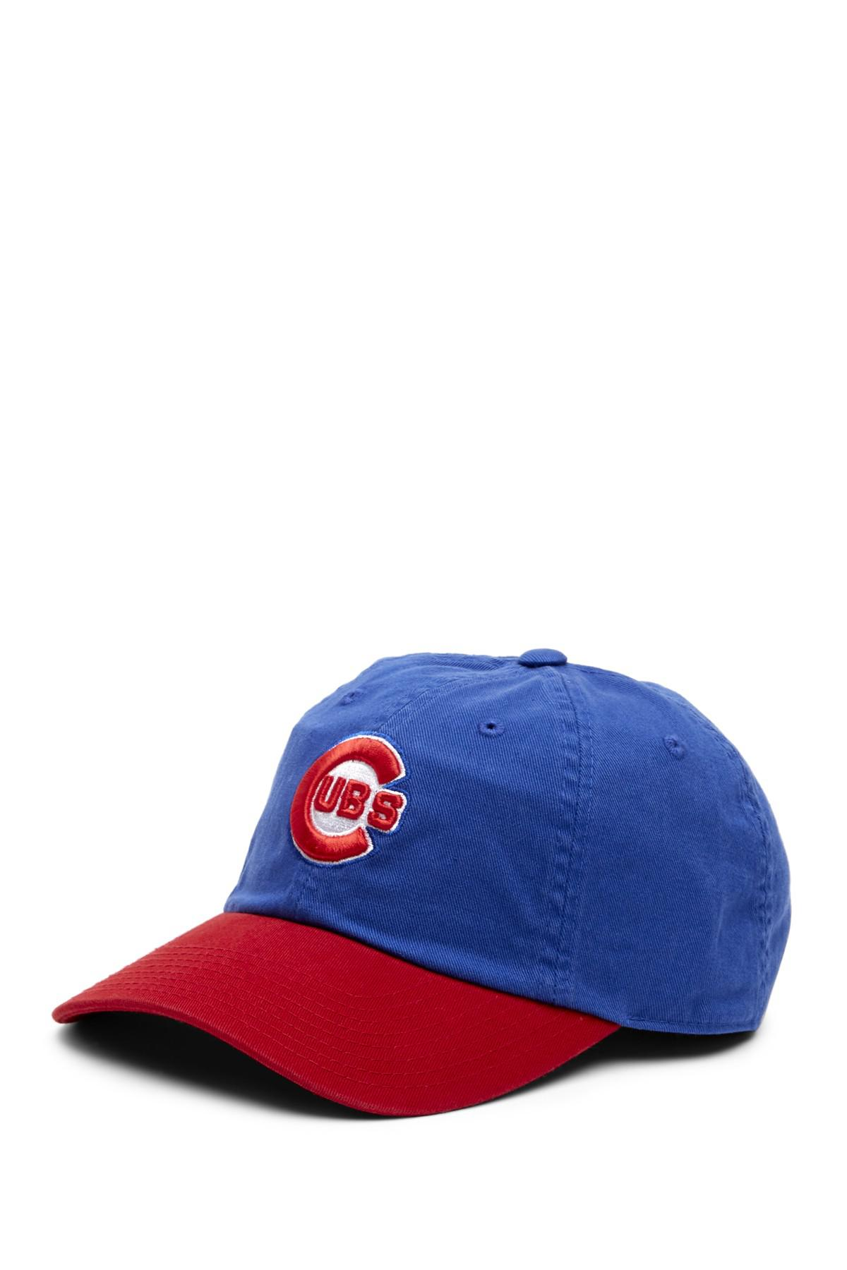 2293109409d64 Lyst - American Needle Ballpark Chicago Cubs Baseball Cap in Blue ...