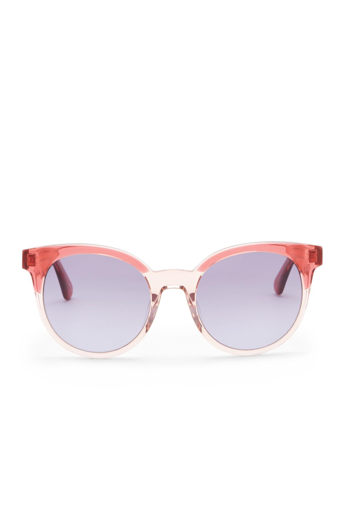 538bc034f8 Kate Spade - Multicolor Abianne 51mm Round Sunglasses - Lyst. View  fullscreen